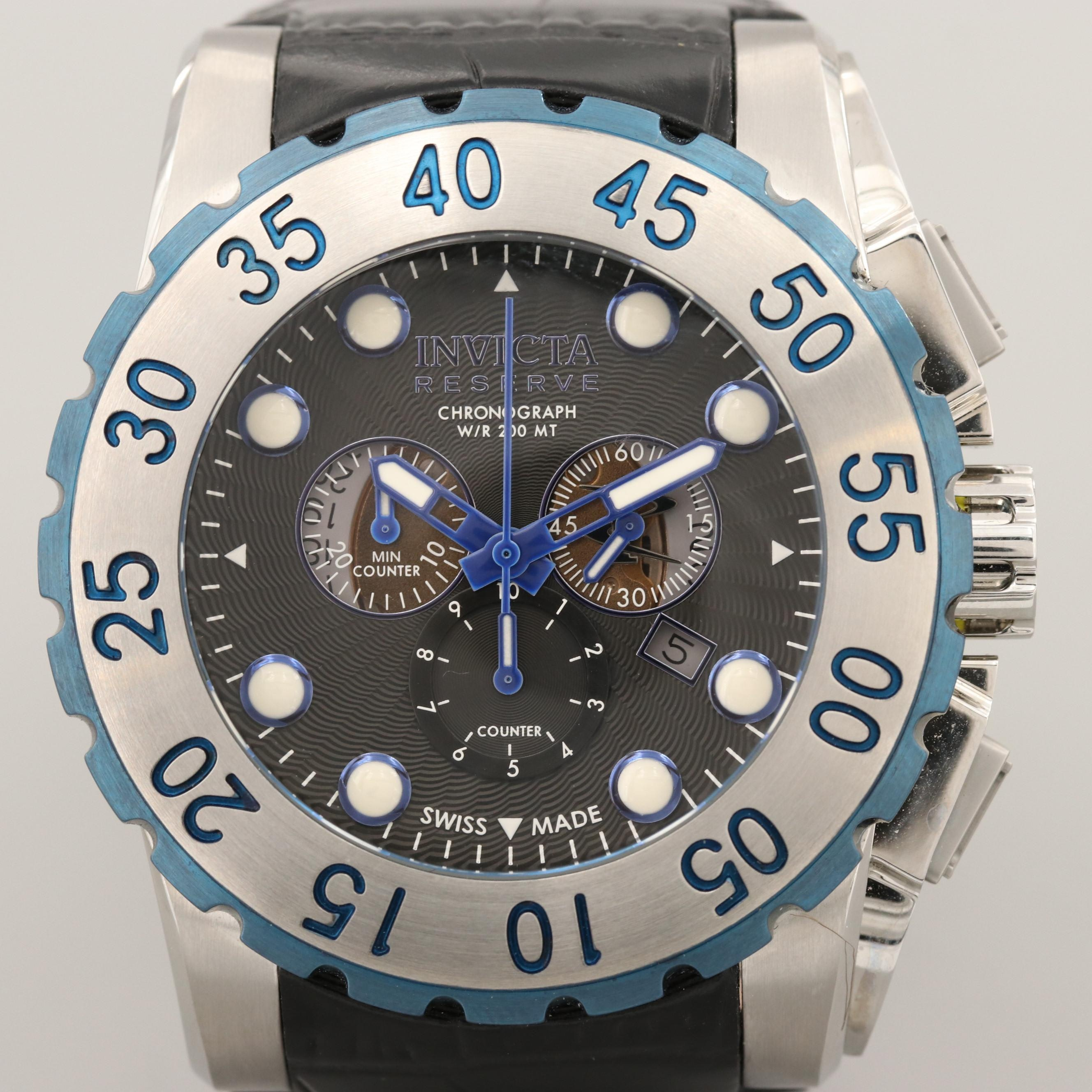 Invicta Reserve Stainless Steel Wristwatch