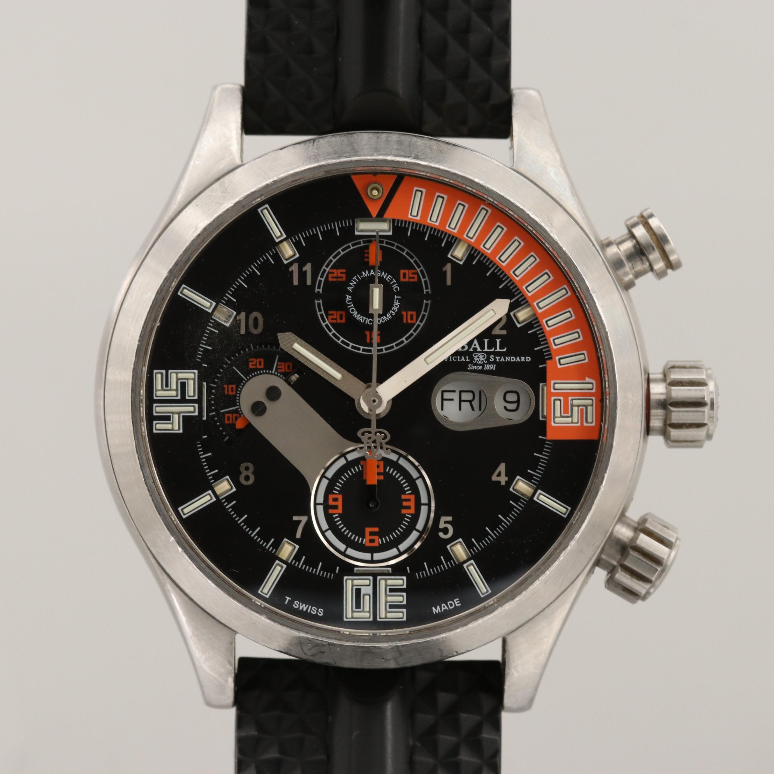 Ball Engineer Master II Diver Chronograph Automatic Wristwatch