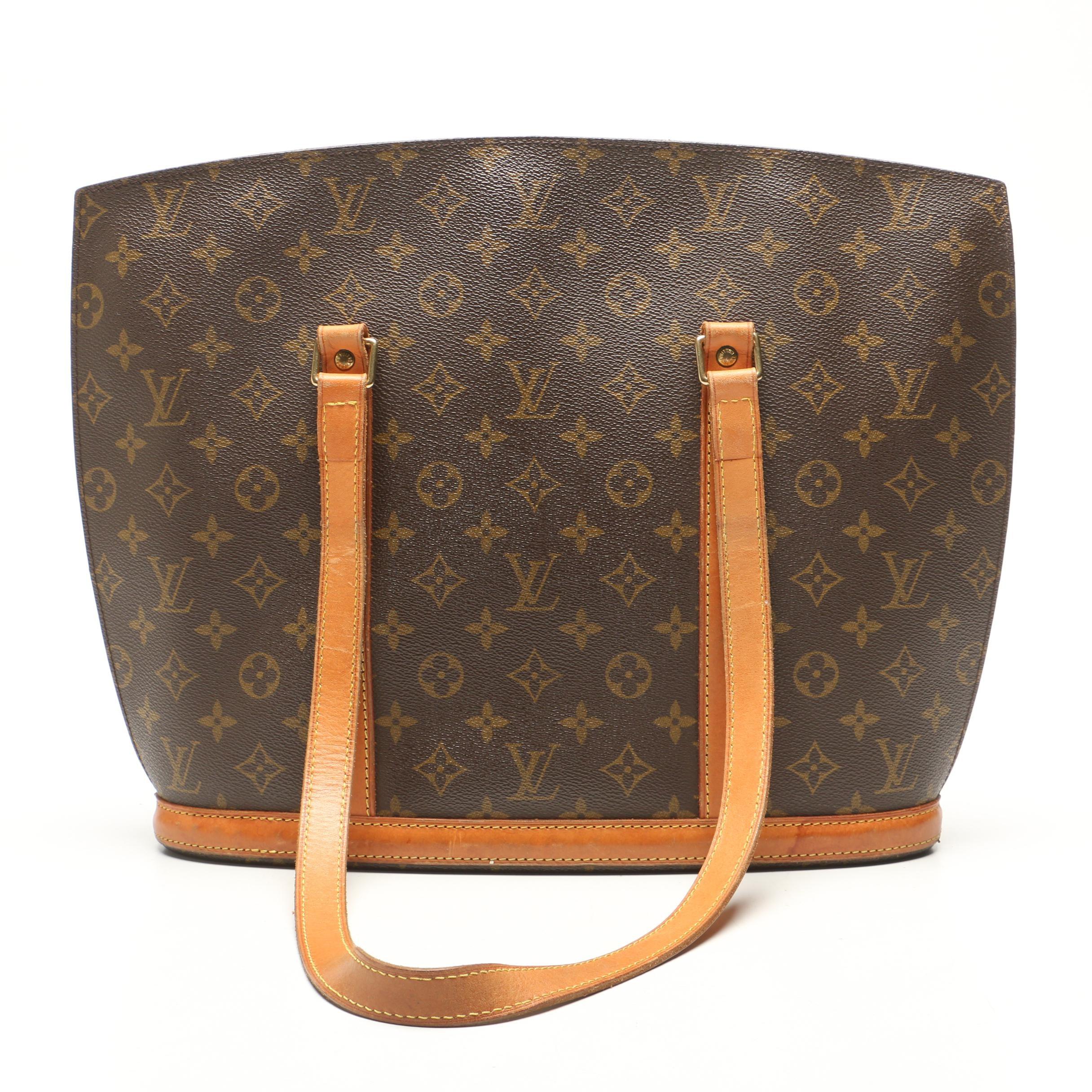 Louis Vuitton Paris Monogram Canvas Babylone Tote Bag