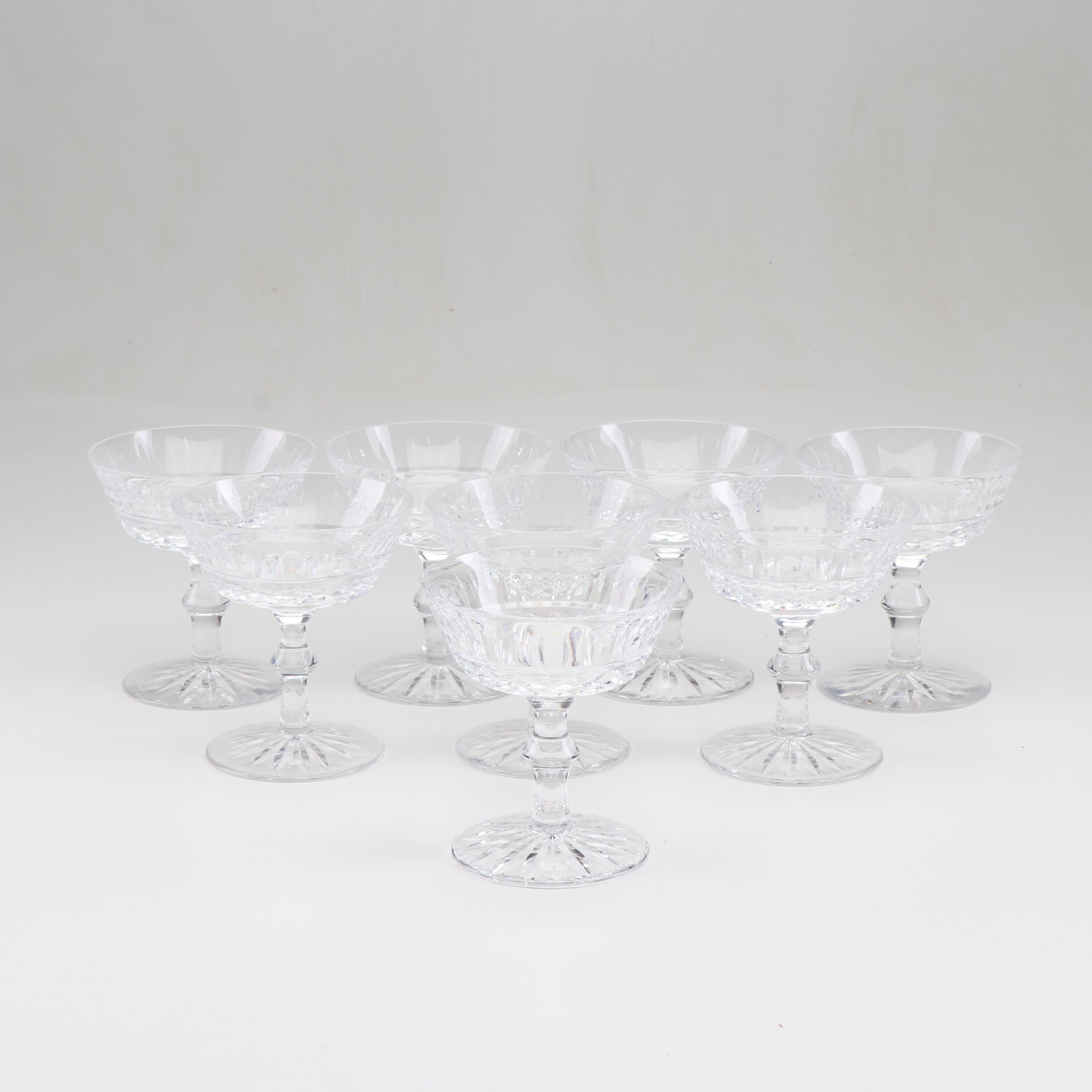 "Waterford Crystal ""Tramore"" Dessert Glasses"