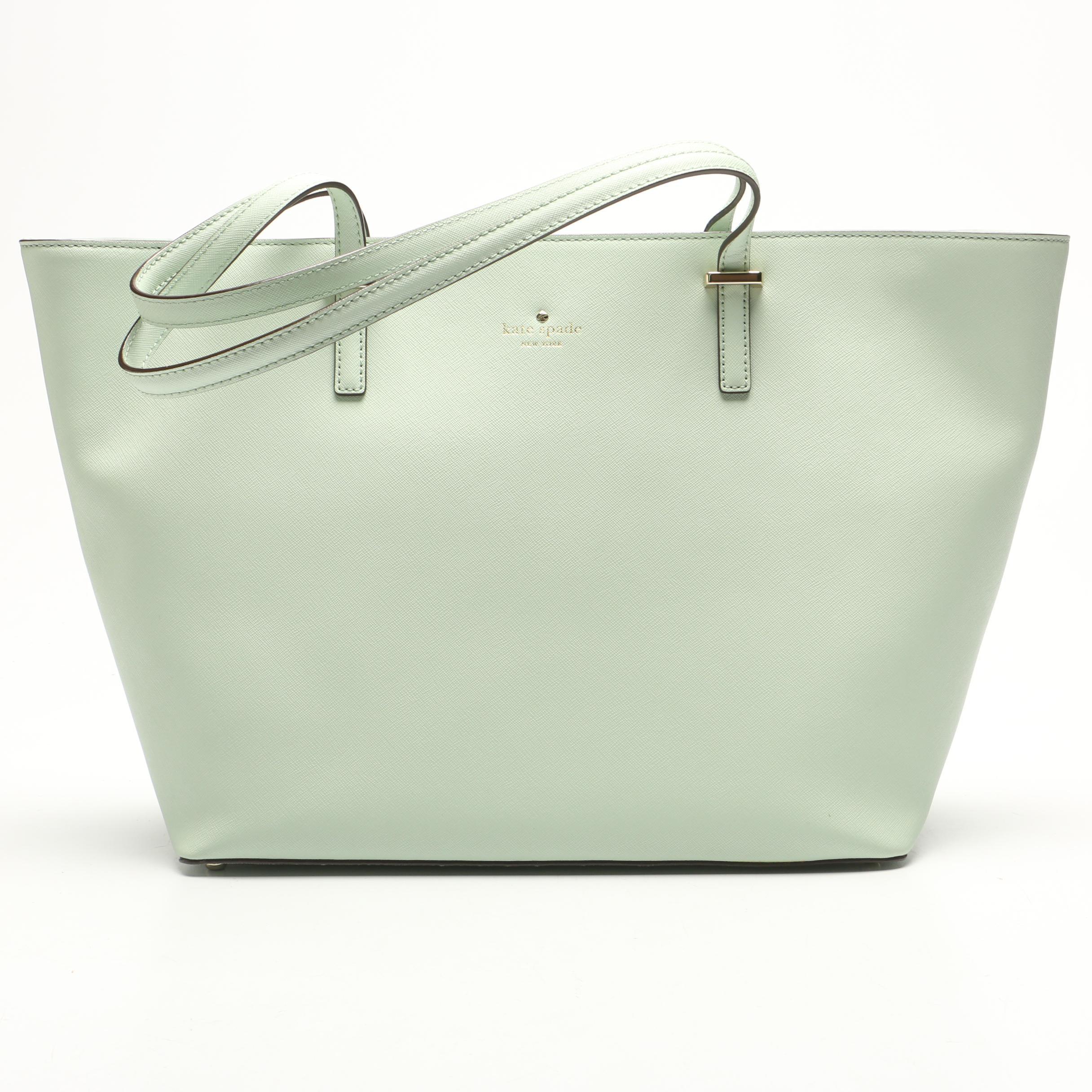 Kate Spade New York Medium Harmony Cedar Street Tote Bag in Mint Mojito