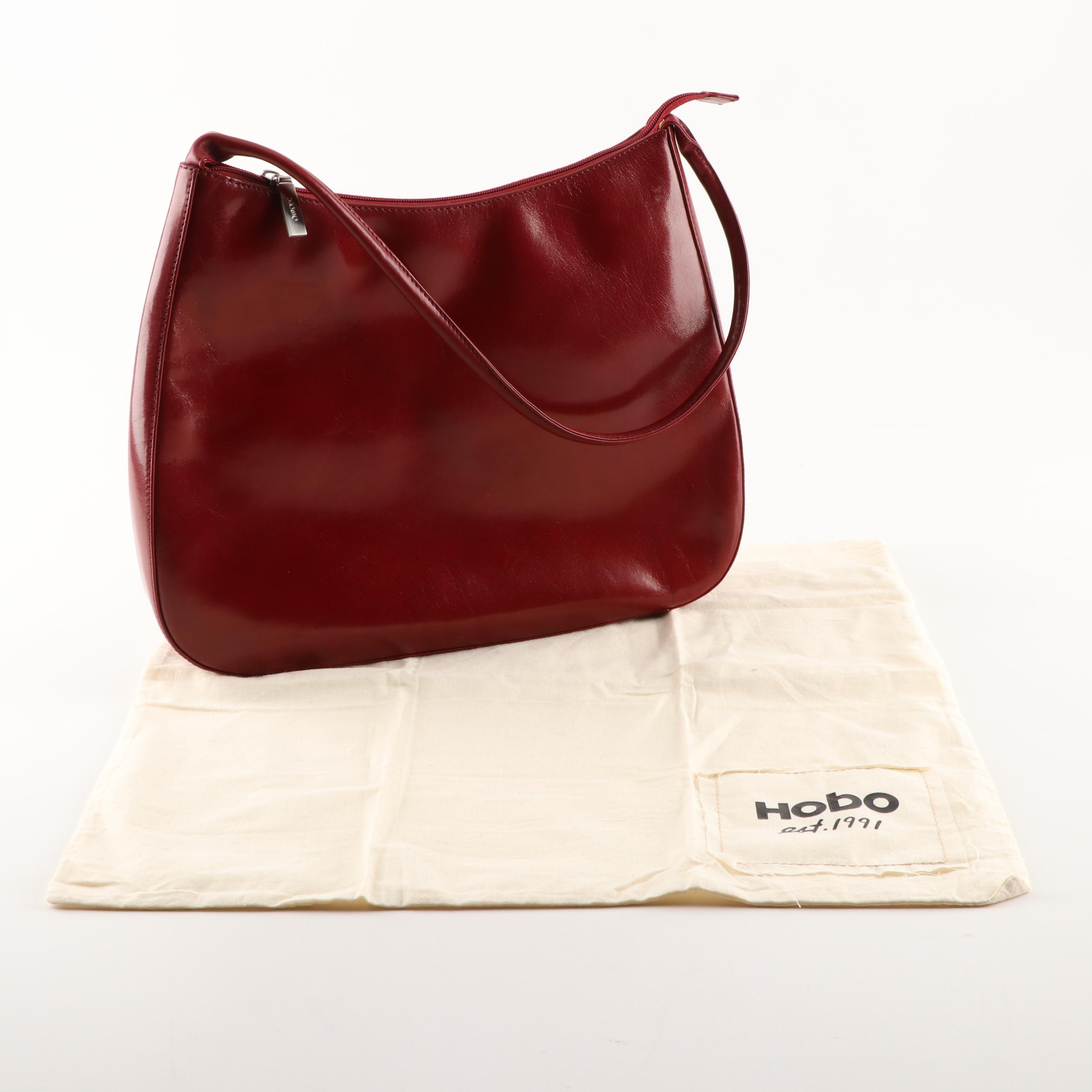 Hobo International Red Leather Handbag