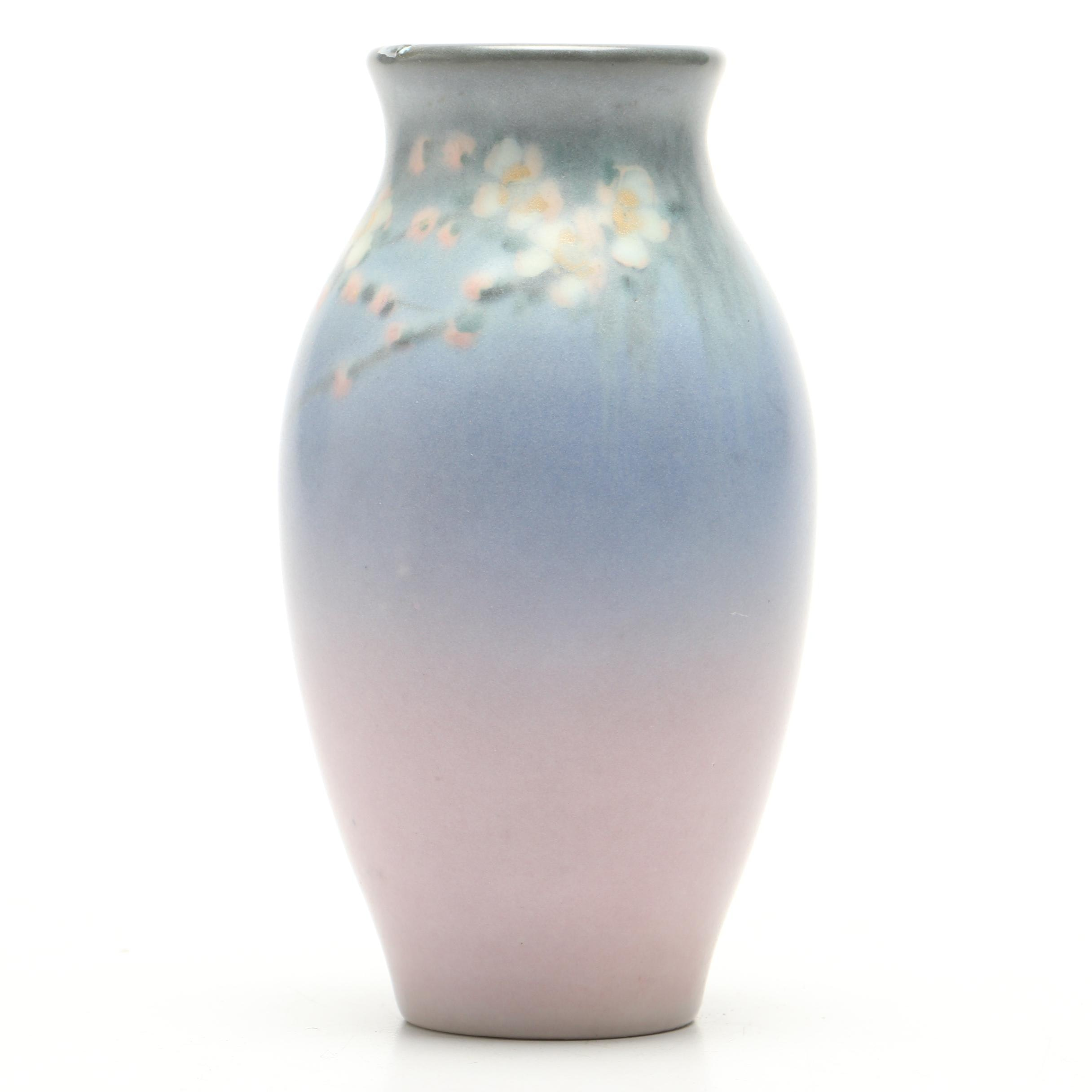 E.T. Hurley Rookwood Pottery Vellum Glazed Vase, 1928