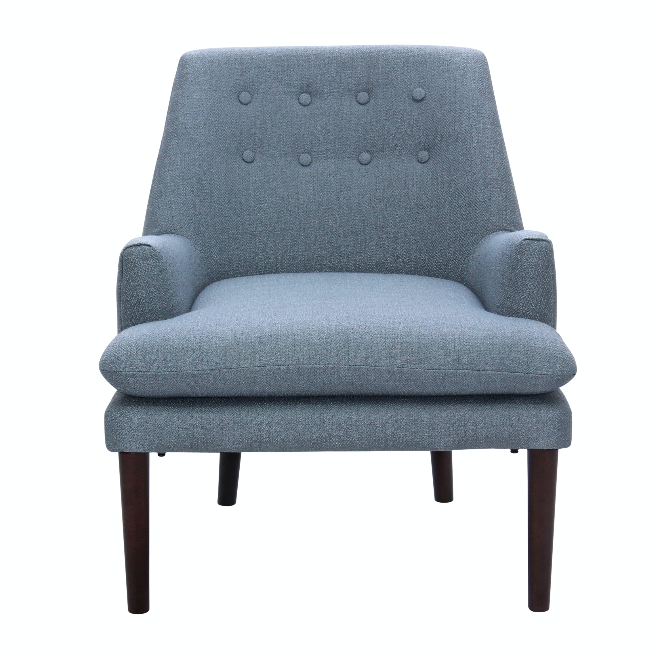 Madison Park Tufted Arm Chair, Contemporary