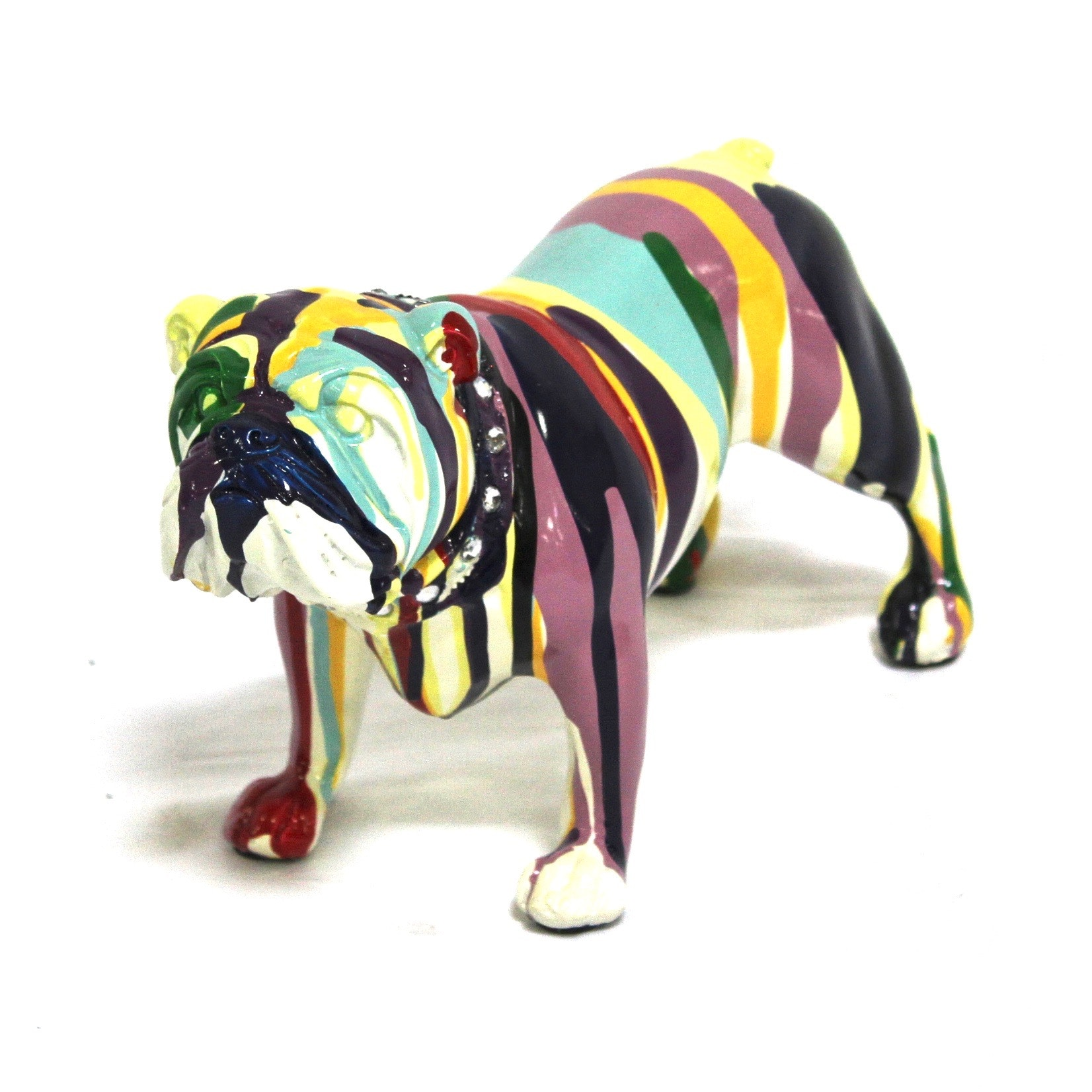 Contemporary English Bulldog Figurine