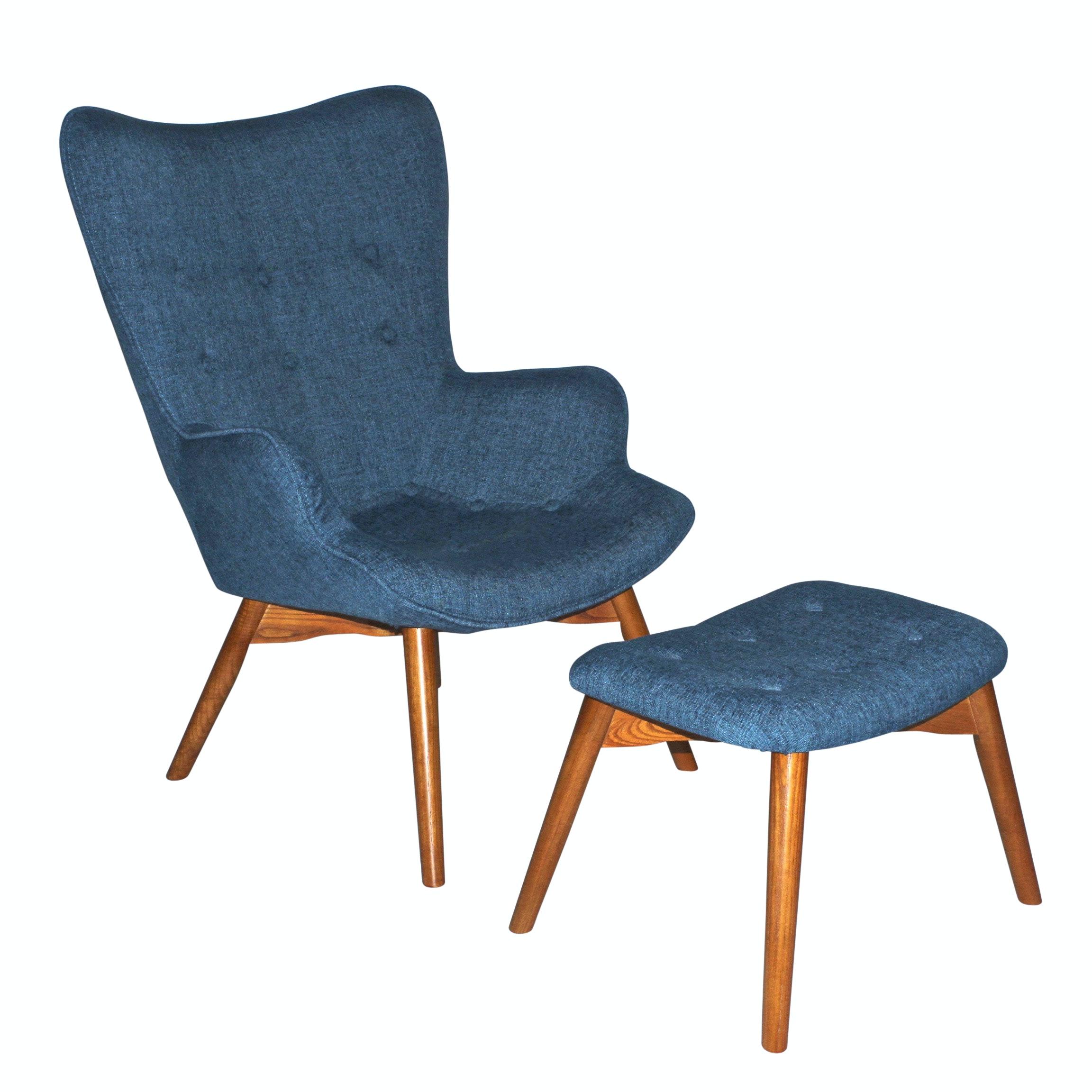 Linyi Tiancai Timber Co.,Ltd. Armchair and Ottoman, Contemporary