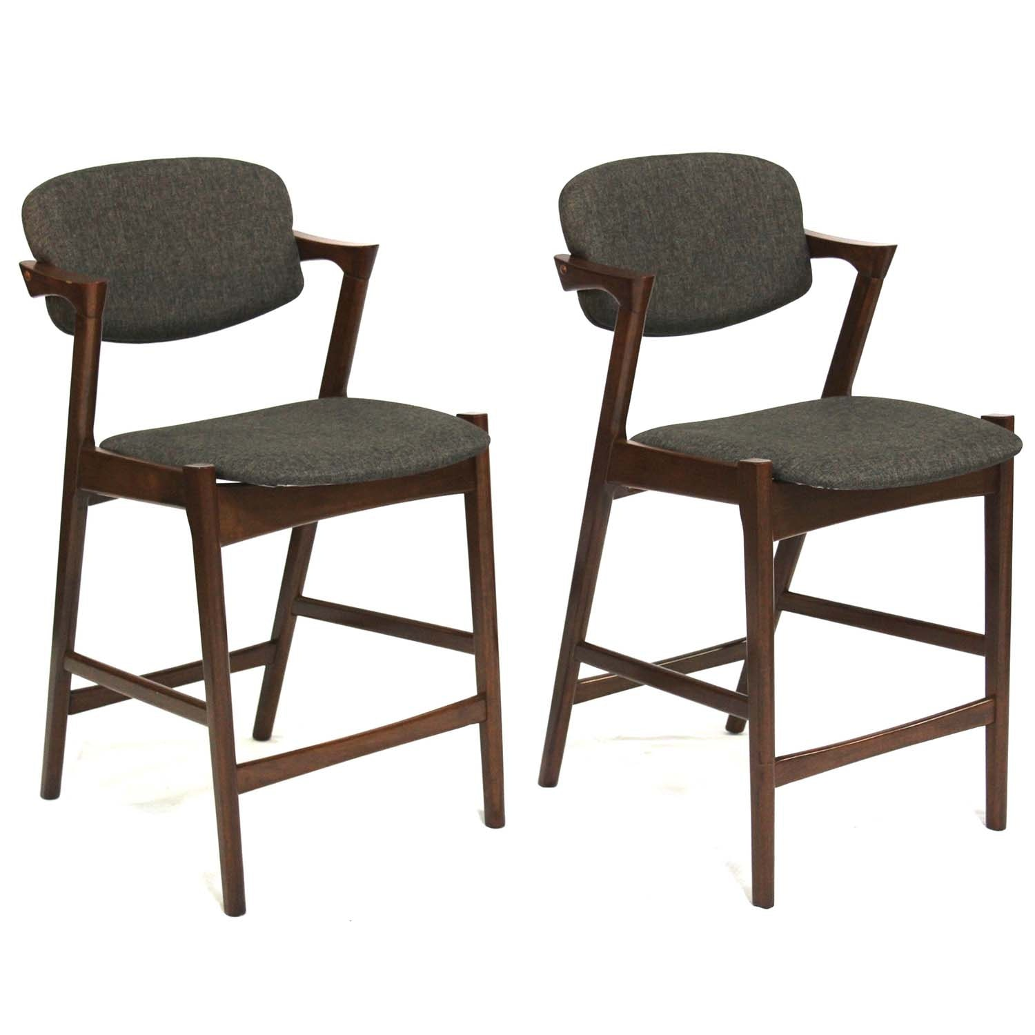 Two Coaster Furniture Bar Stools, Contemporary