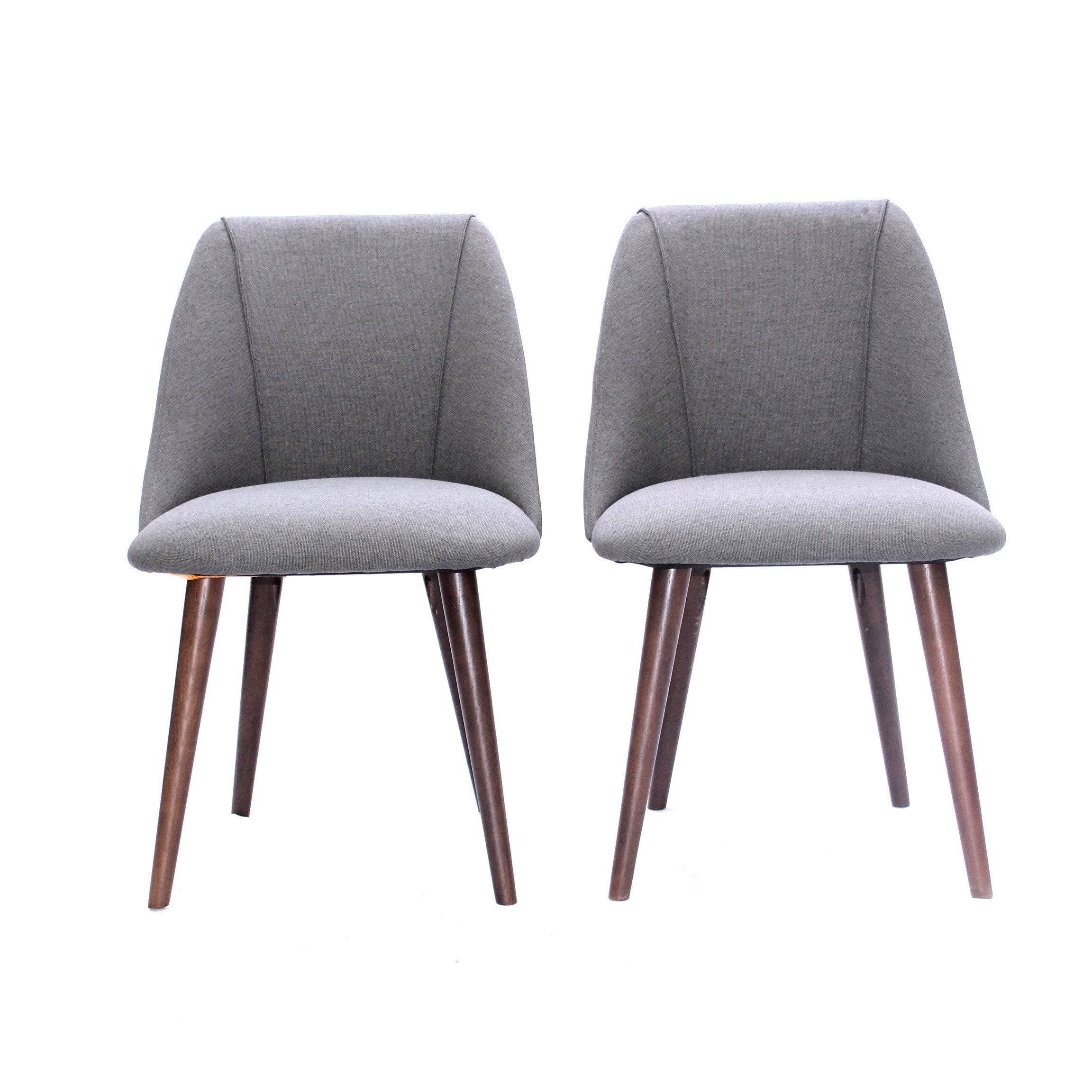Two Mid-Century Modern Style Accent Chairs, Contemporary