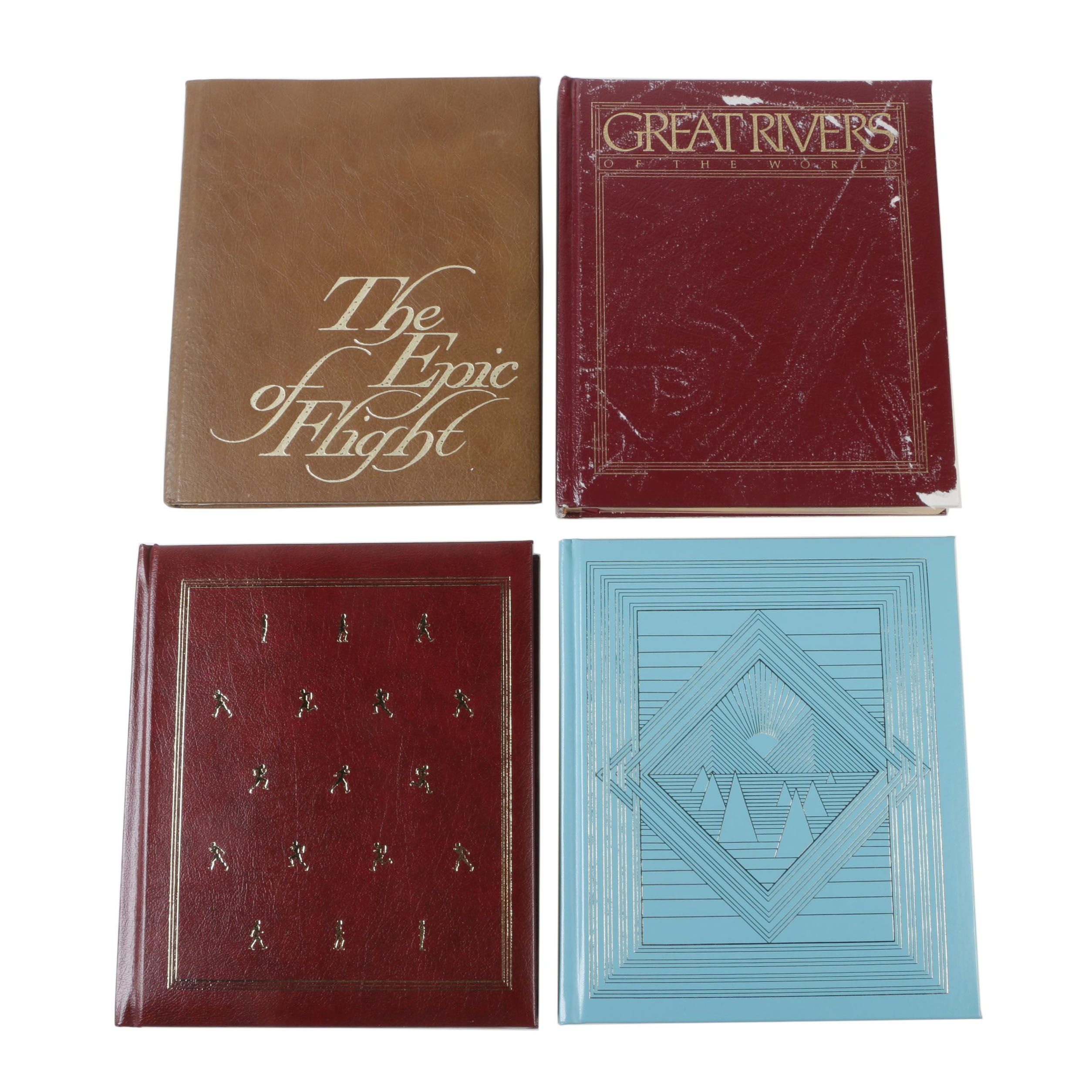 Leather Bound Books by National Geographic Society and Time-Life