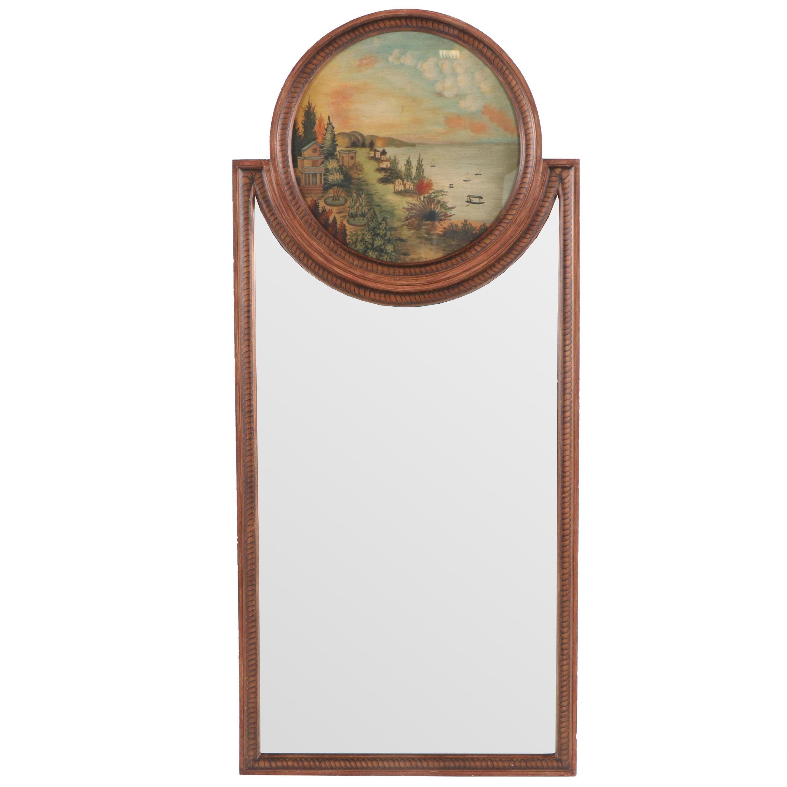 Sarreid Trumeau Style Wall Mirror