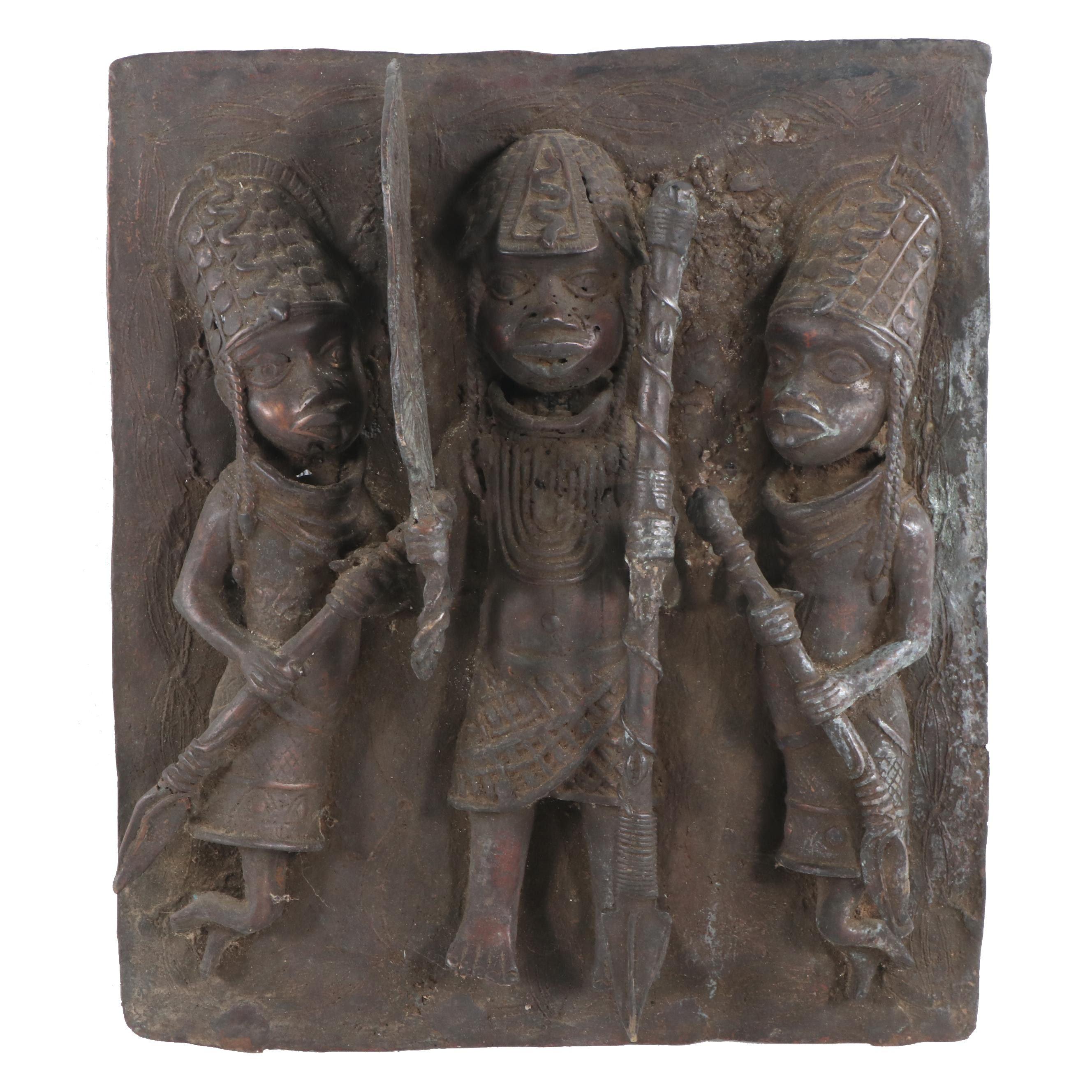 African Iron Wall Art