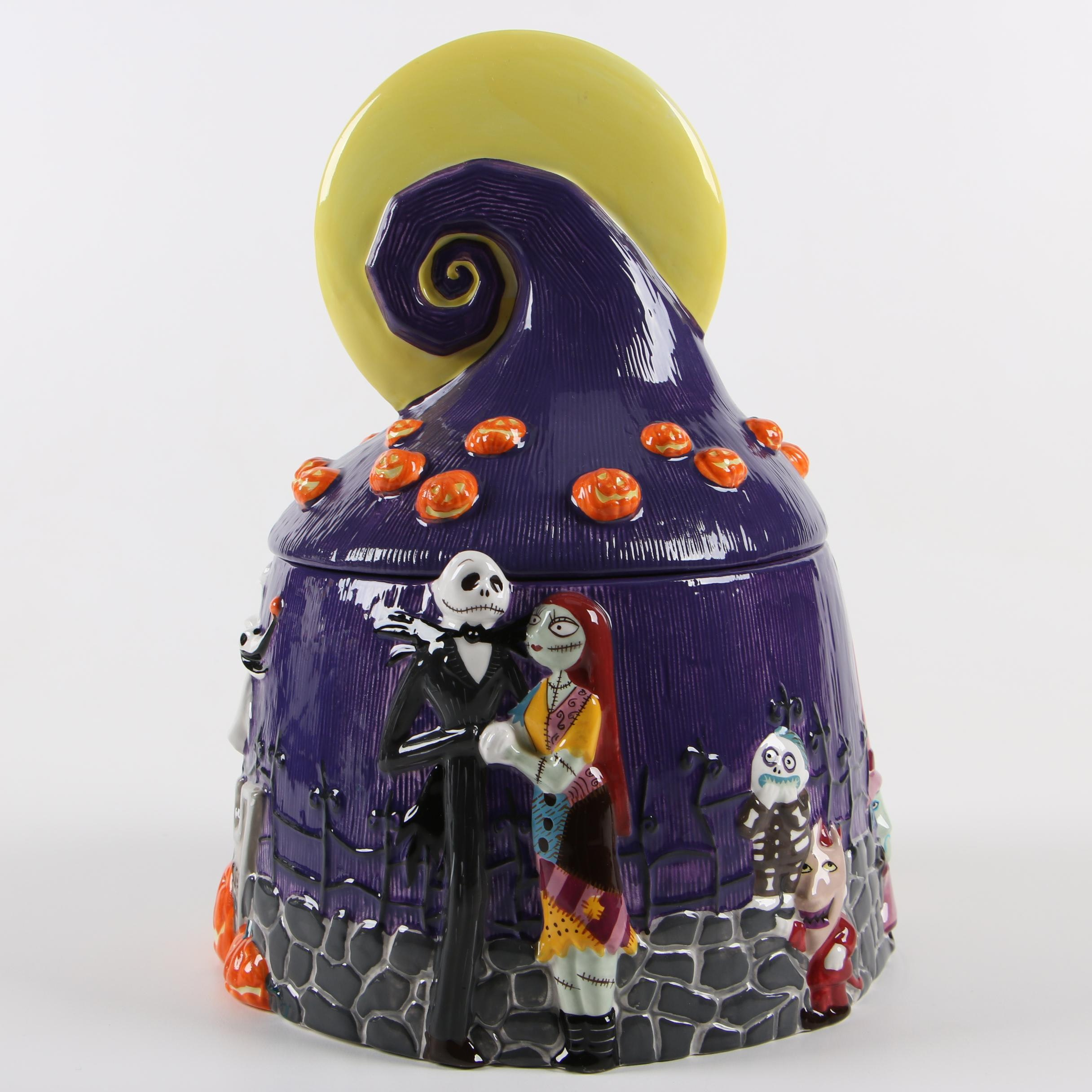 """The Nightmare Before Christmas"" Ceramic Cookie Jar"