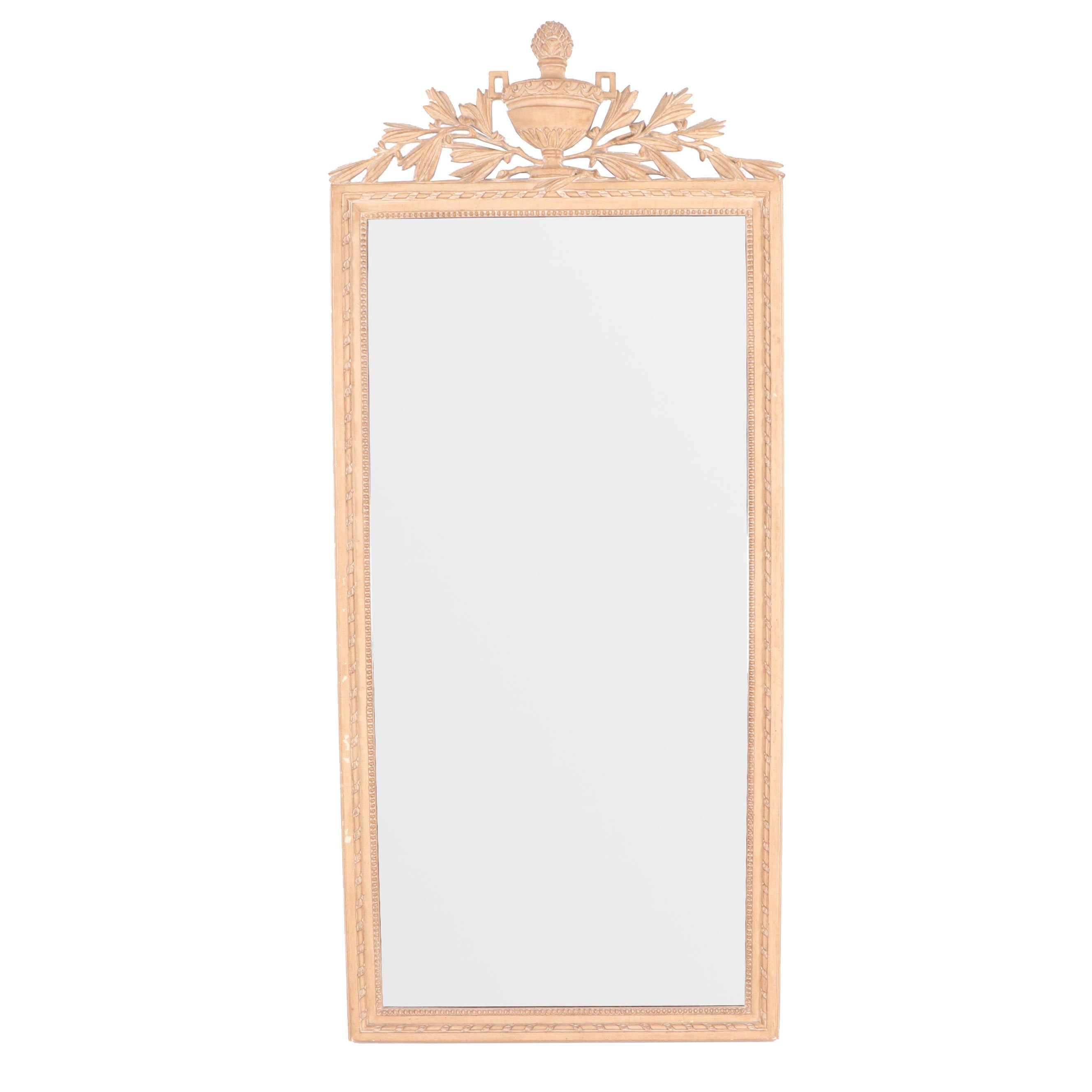 French Provincial Style Full Length Wall Mirror