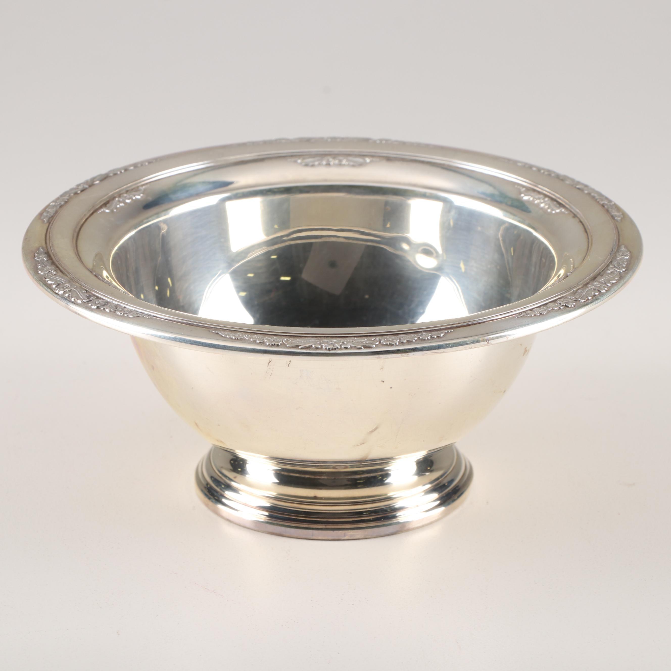 International Silver Sterling Silver Bowl