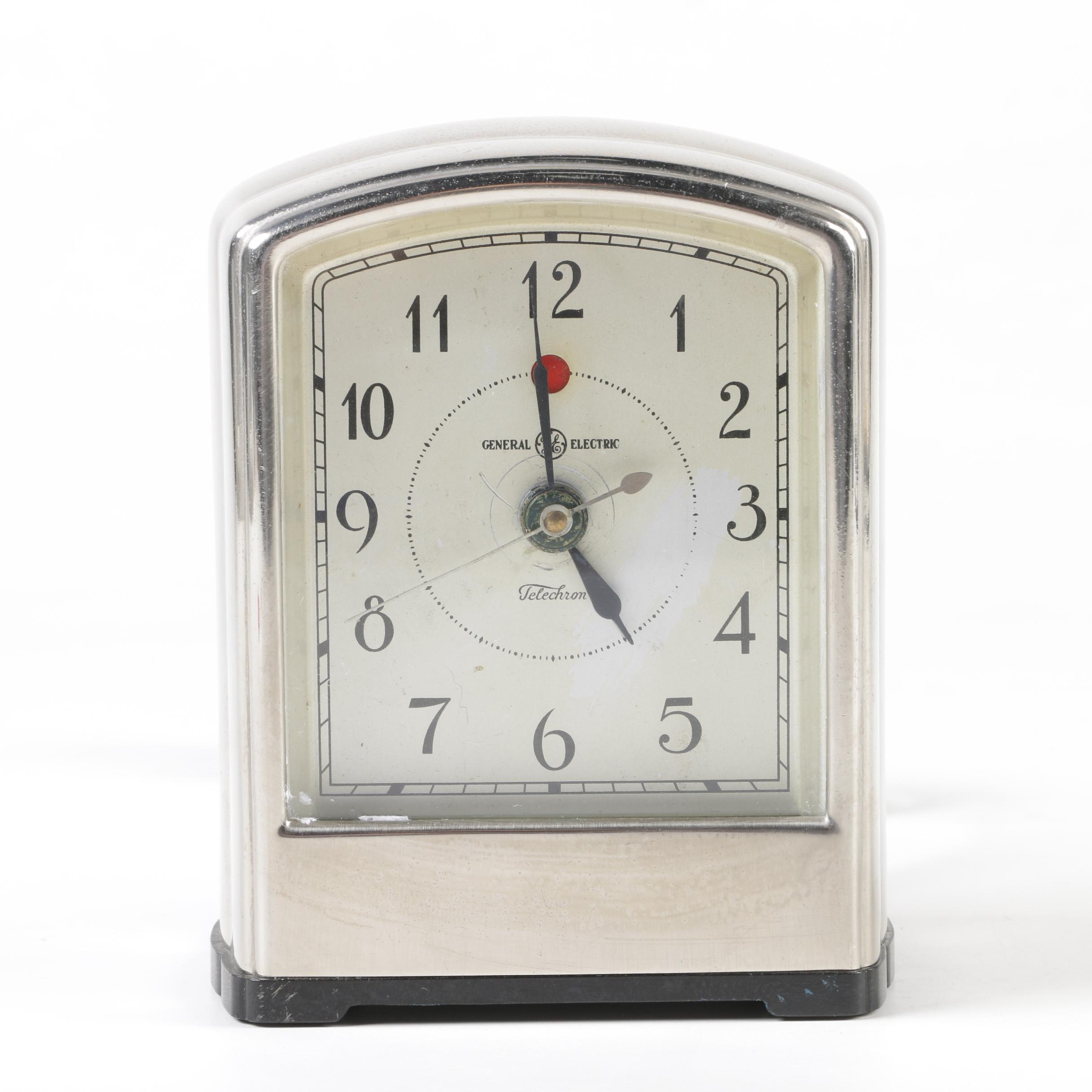 General Electric AB-712 Telechron Alarm Clock, circa 1930