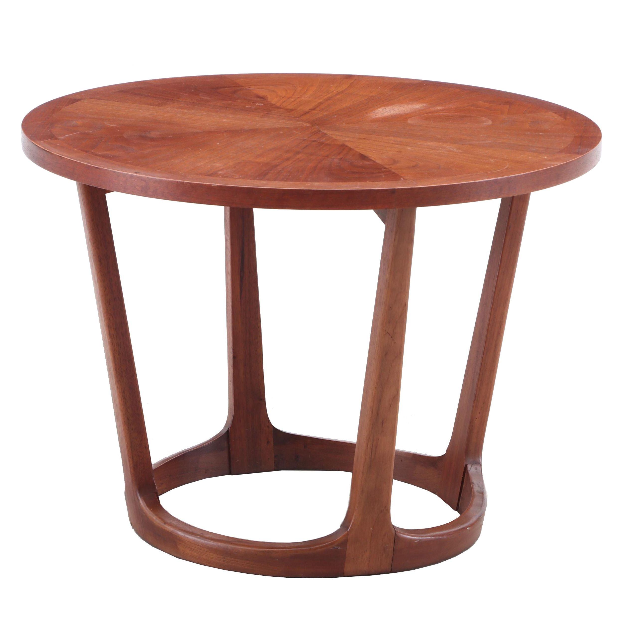 Mid Century Modern Walnut Coffee Table by Lane, 1962