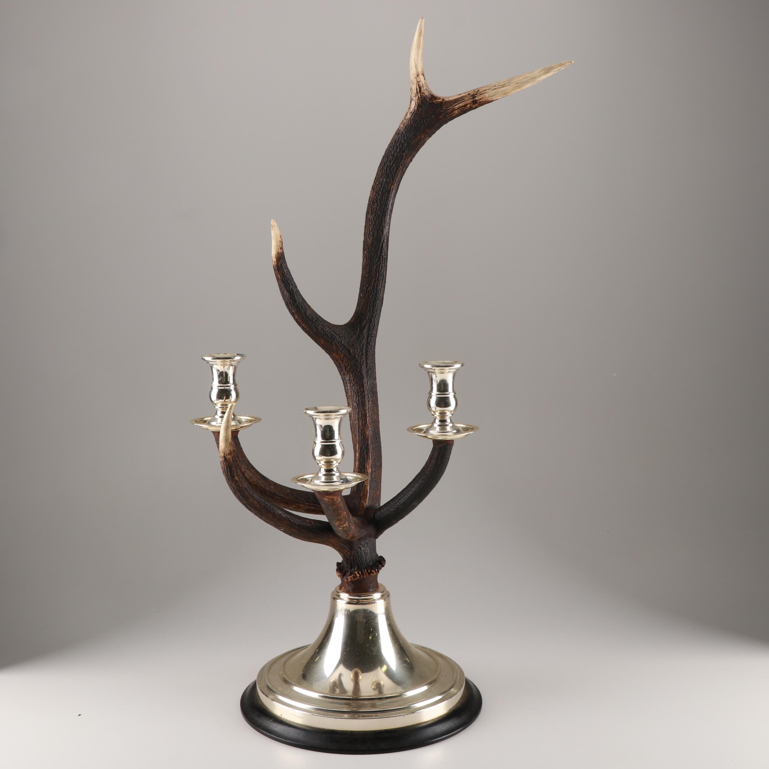 Composite Antler Candle Holder