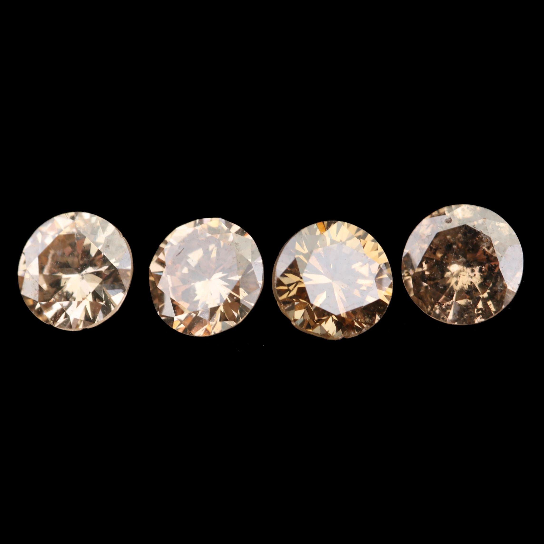 Loose 1.05 CTW Round Brilliant Cut Diamonds