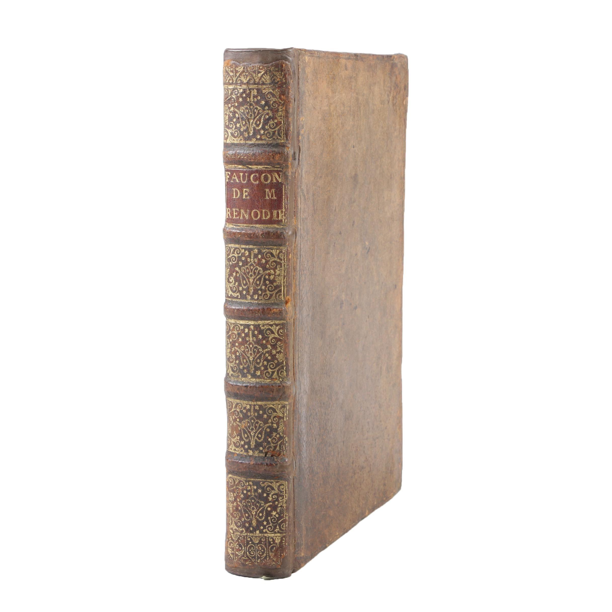 """1619 First Edition """"La Fauconnerie de François de Saincte-Aulaire"""""""