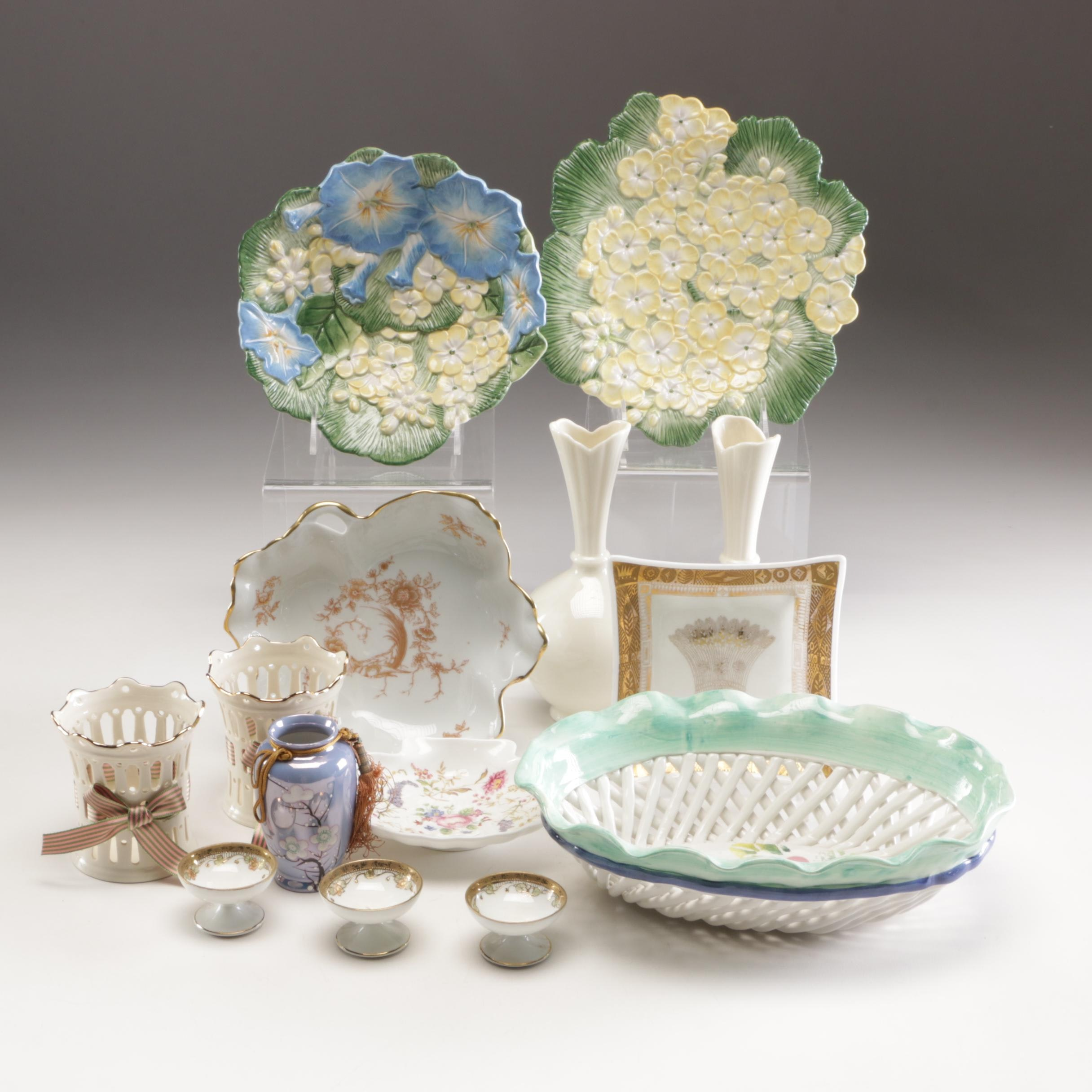 Grouping of Ceramic and Porcelain Tableware Including Lenox