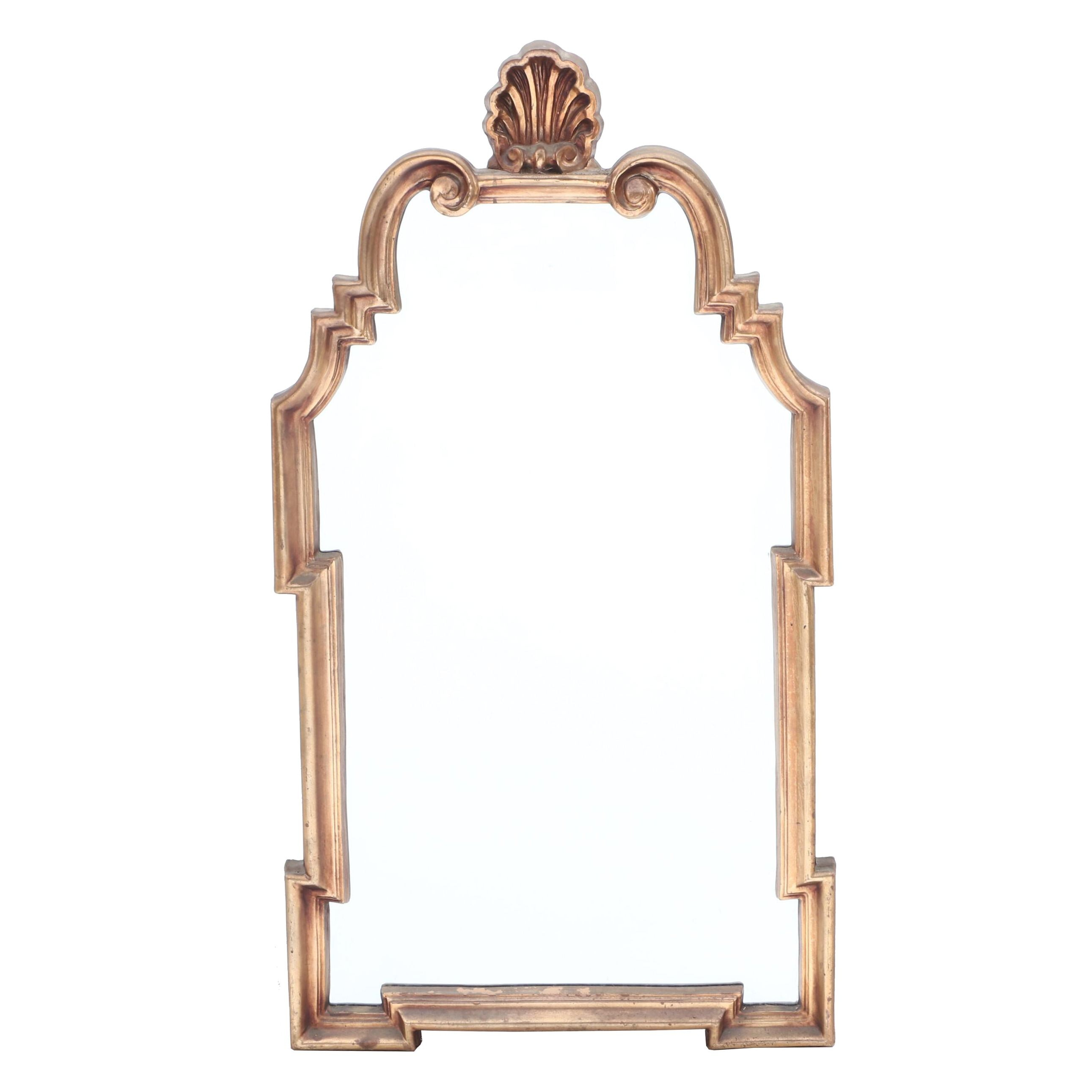 William and Mary Style Giltwood Wall Mirror