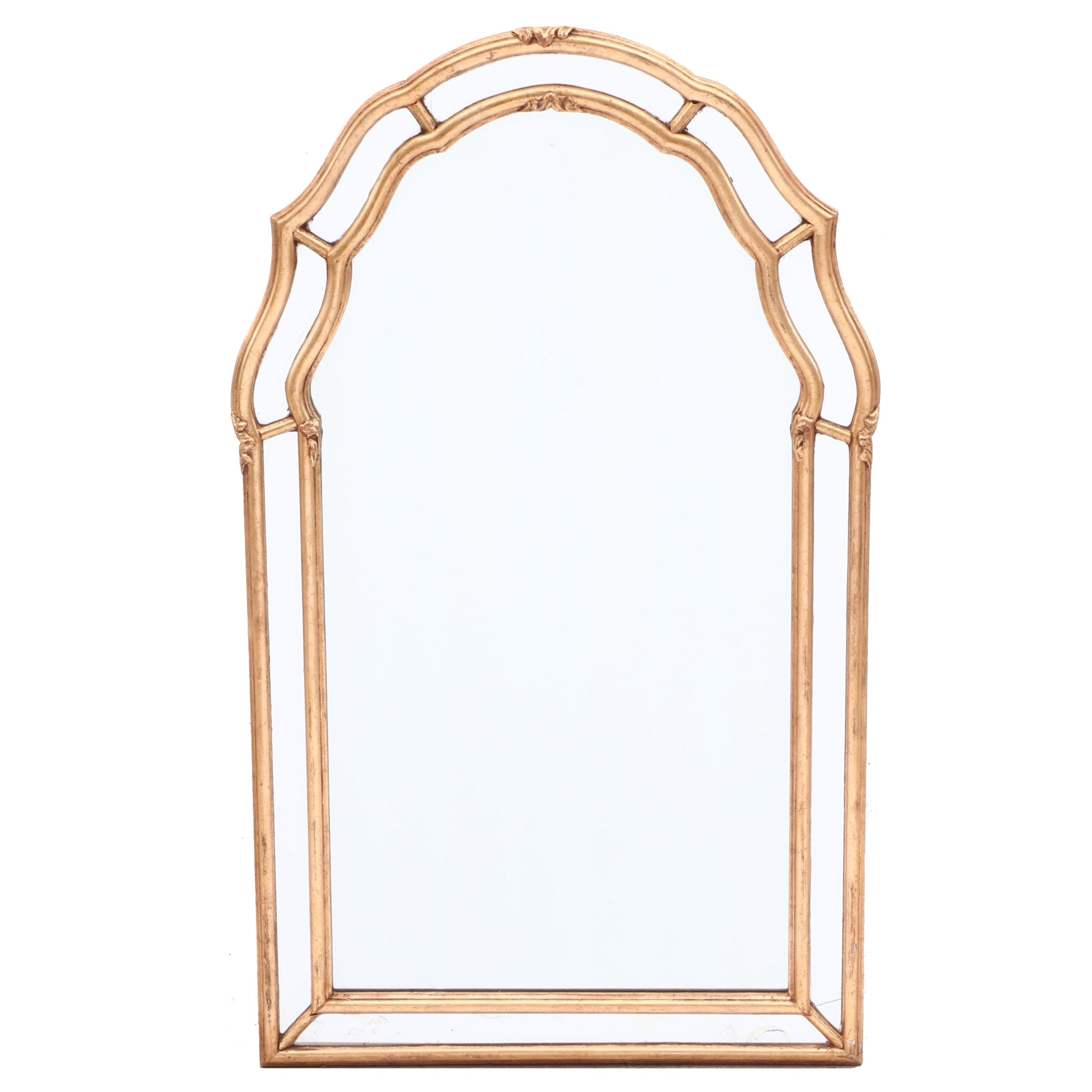 Arched Giltwood Wall Mirror