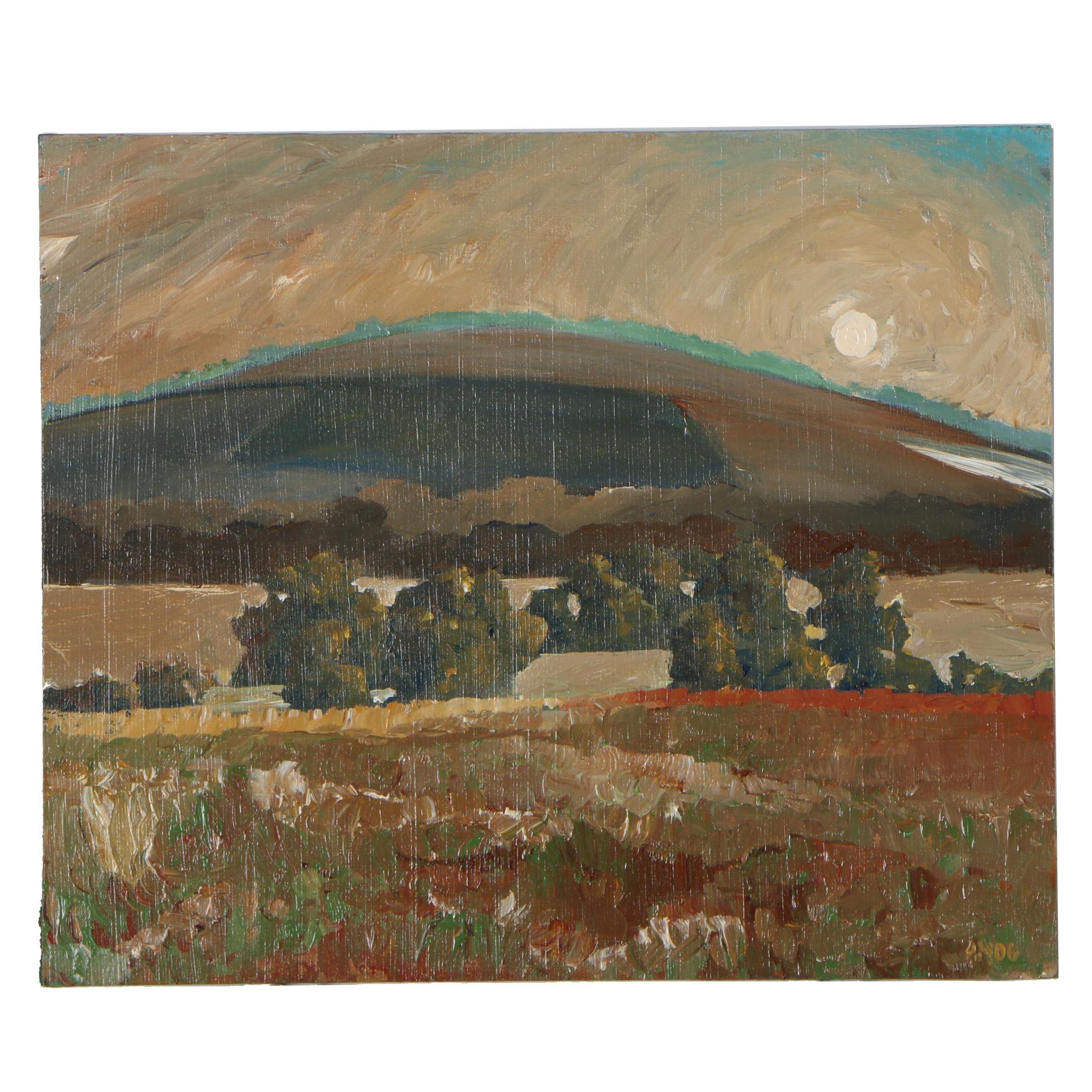 Adam Maeroff Landscape Oil Painting, 2006