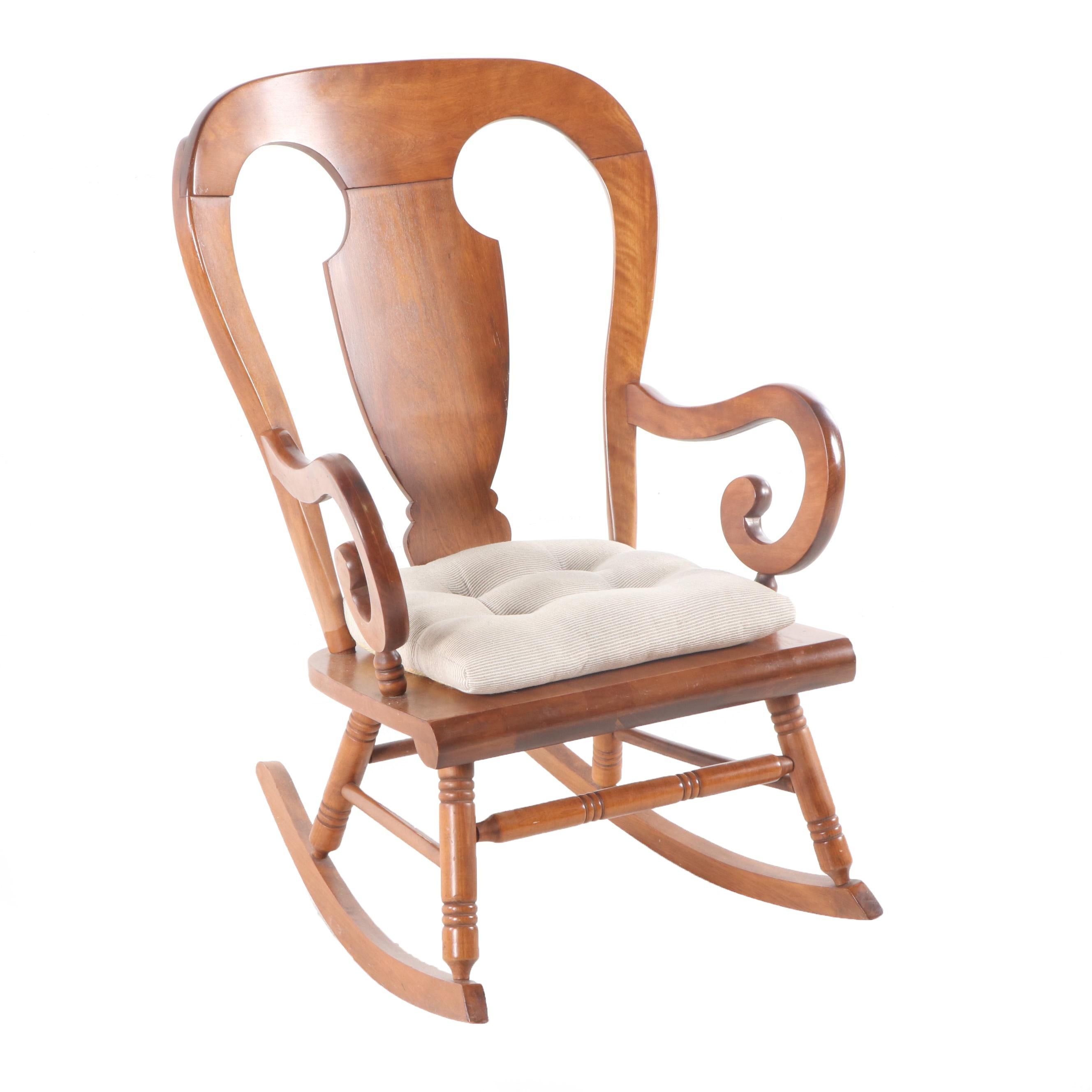 "Oak ""Andover"" Rocking Chair by Tell City Chair Company"
