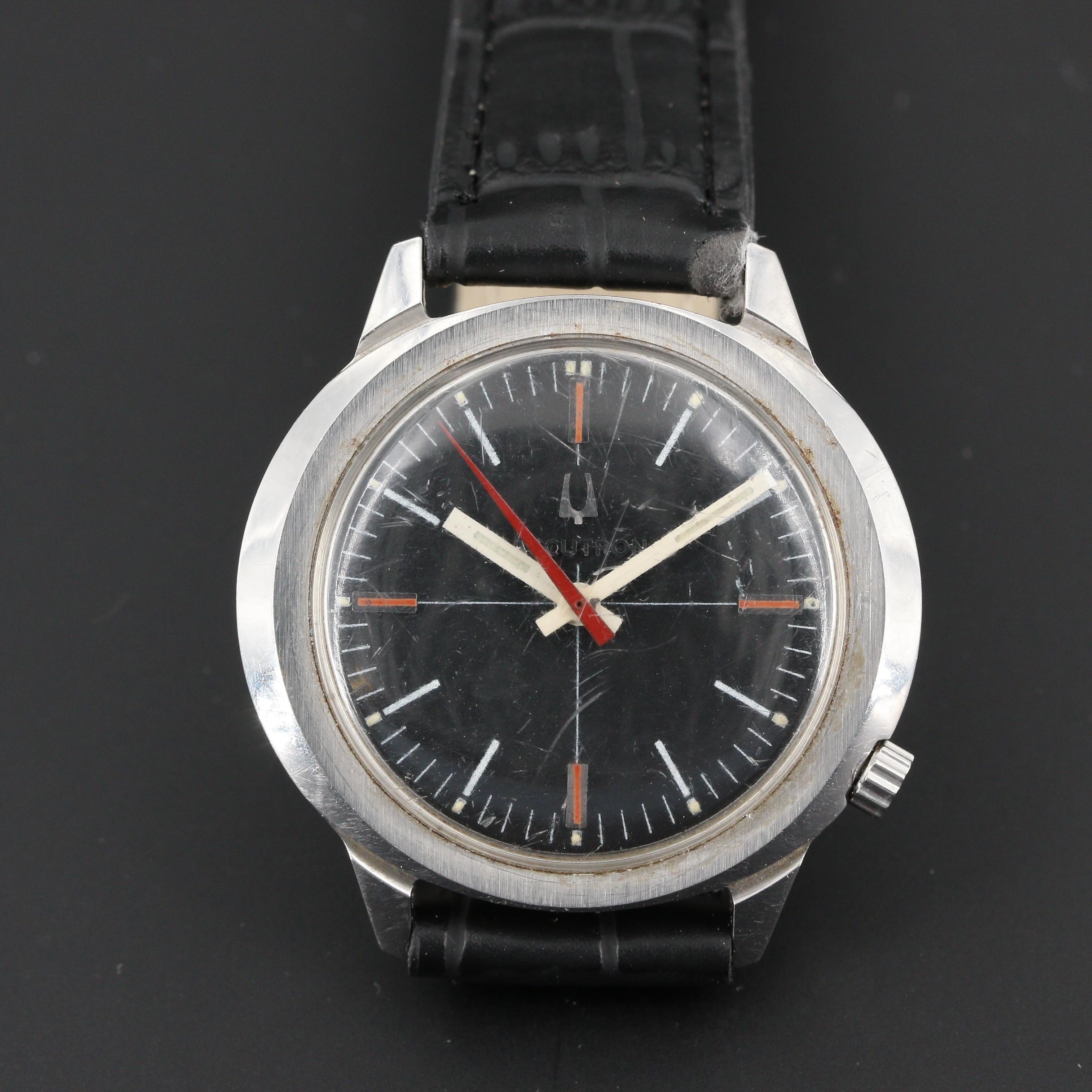 Bulova Accutron Stainless Steel Wristwatch, Circa 1970