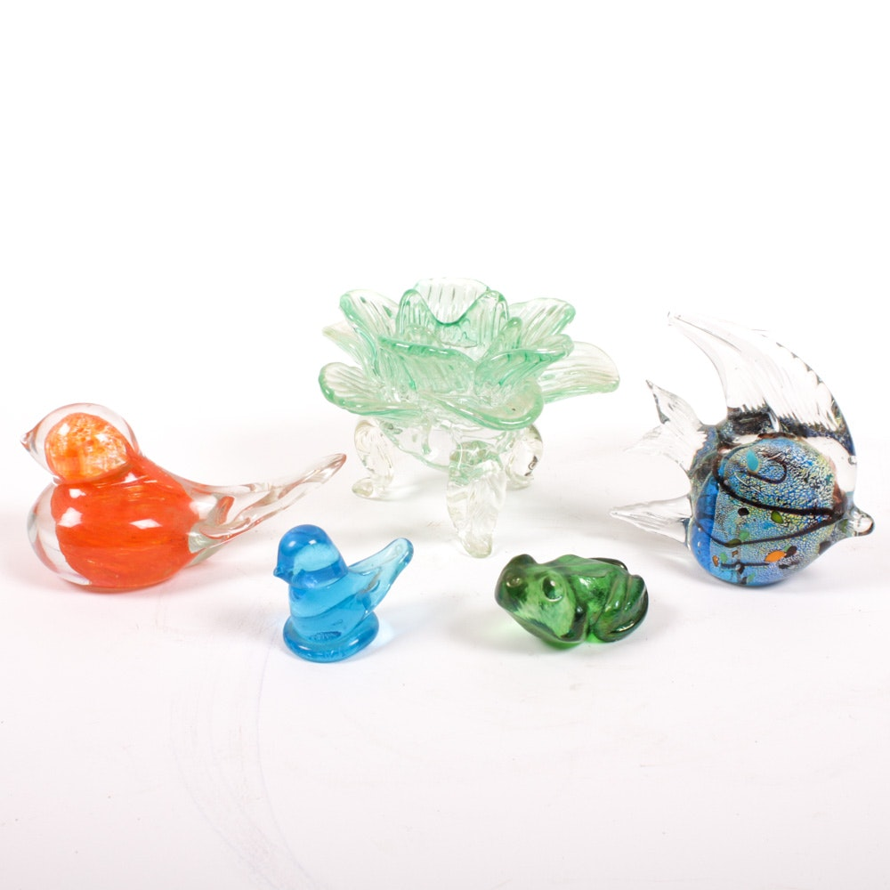 Ron Ray, Robert Held Art Glass Figurines and More