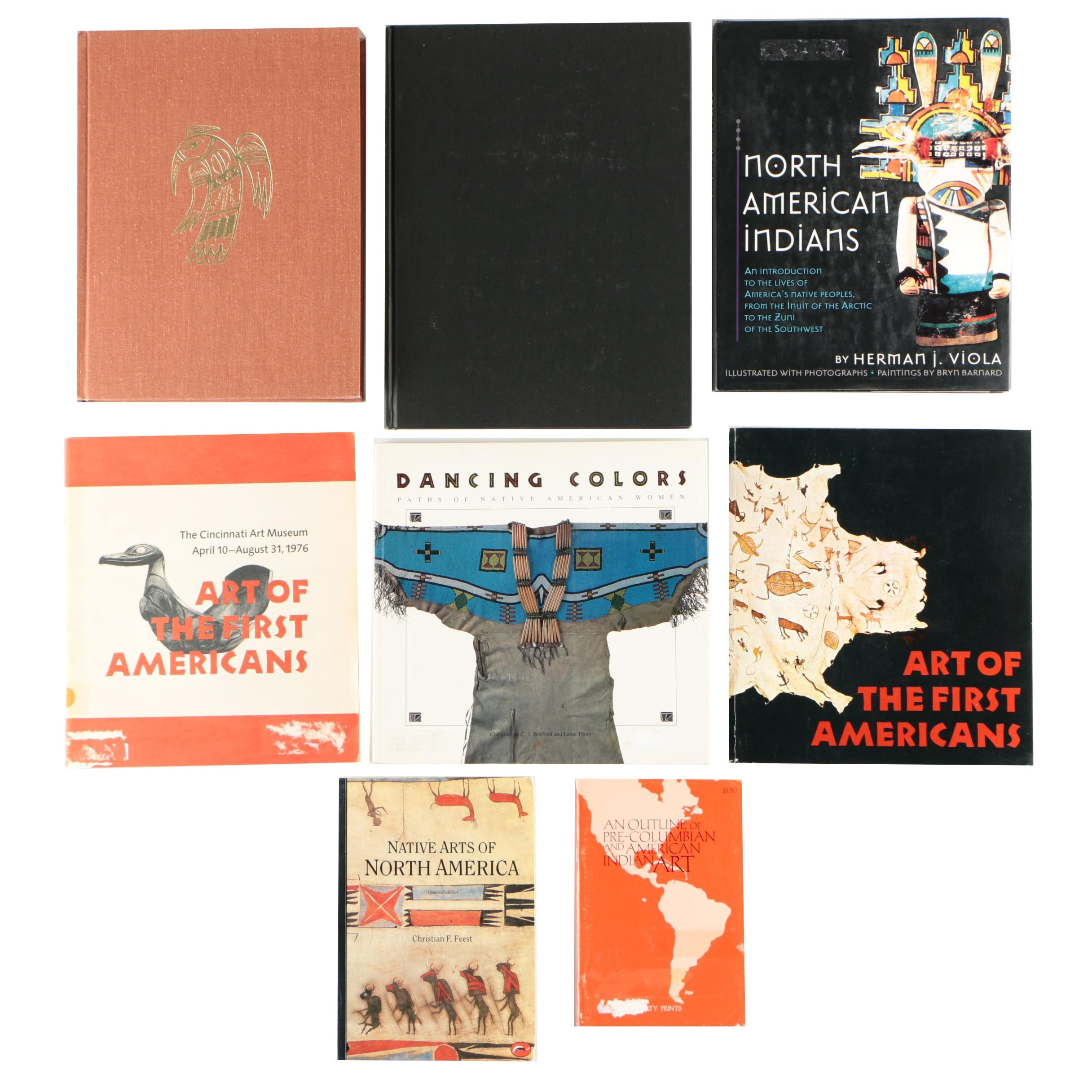 Books on Native American Arts and History