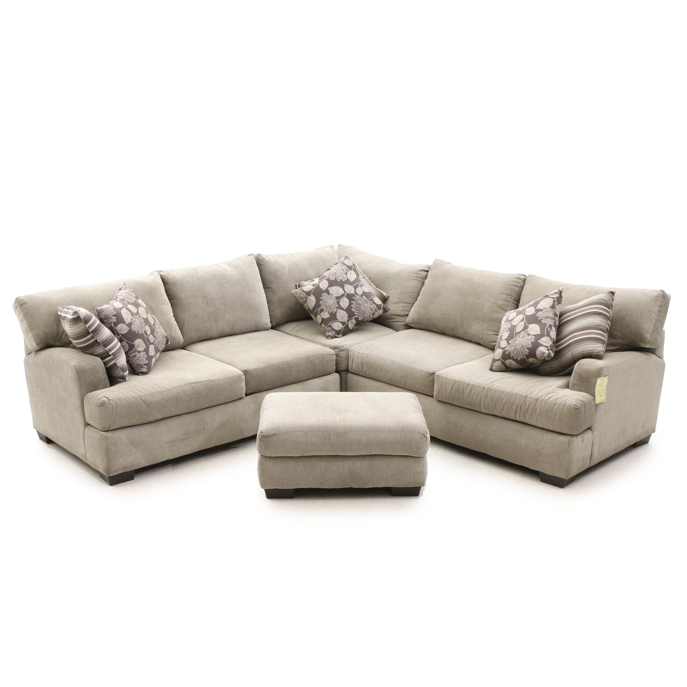Contemporary 3-Piece Sectional Sofa by Furniture Fair
