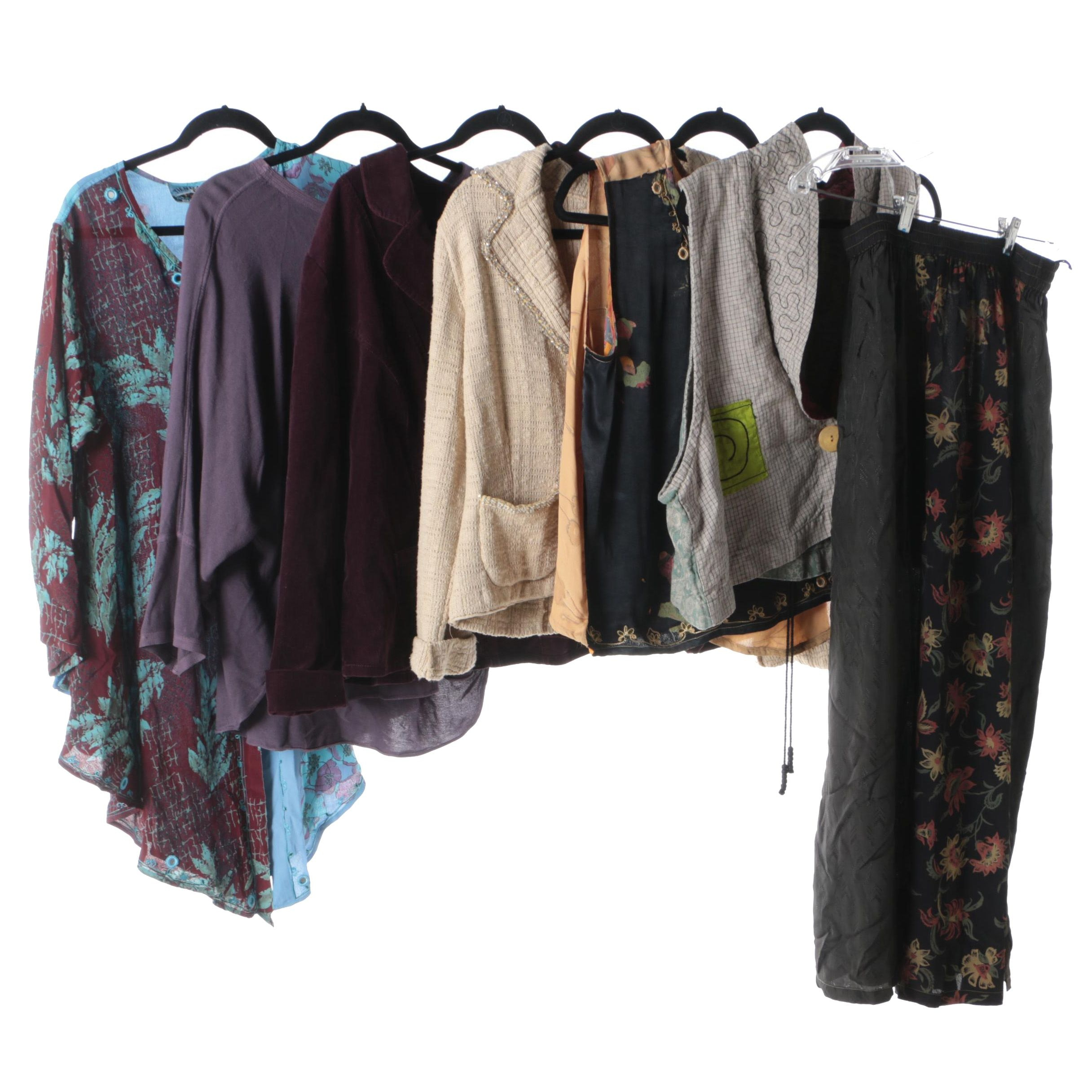 Women's Tops, Pants and Outerwear