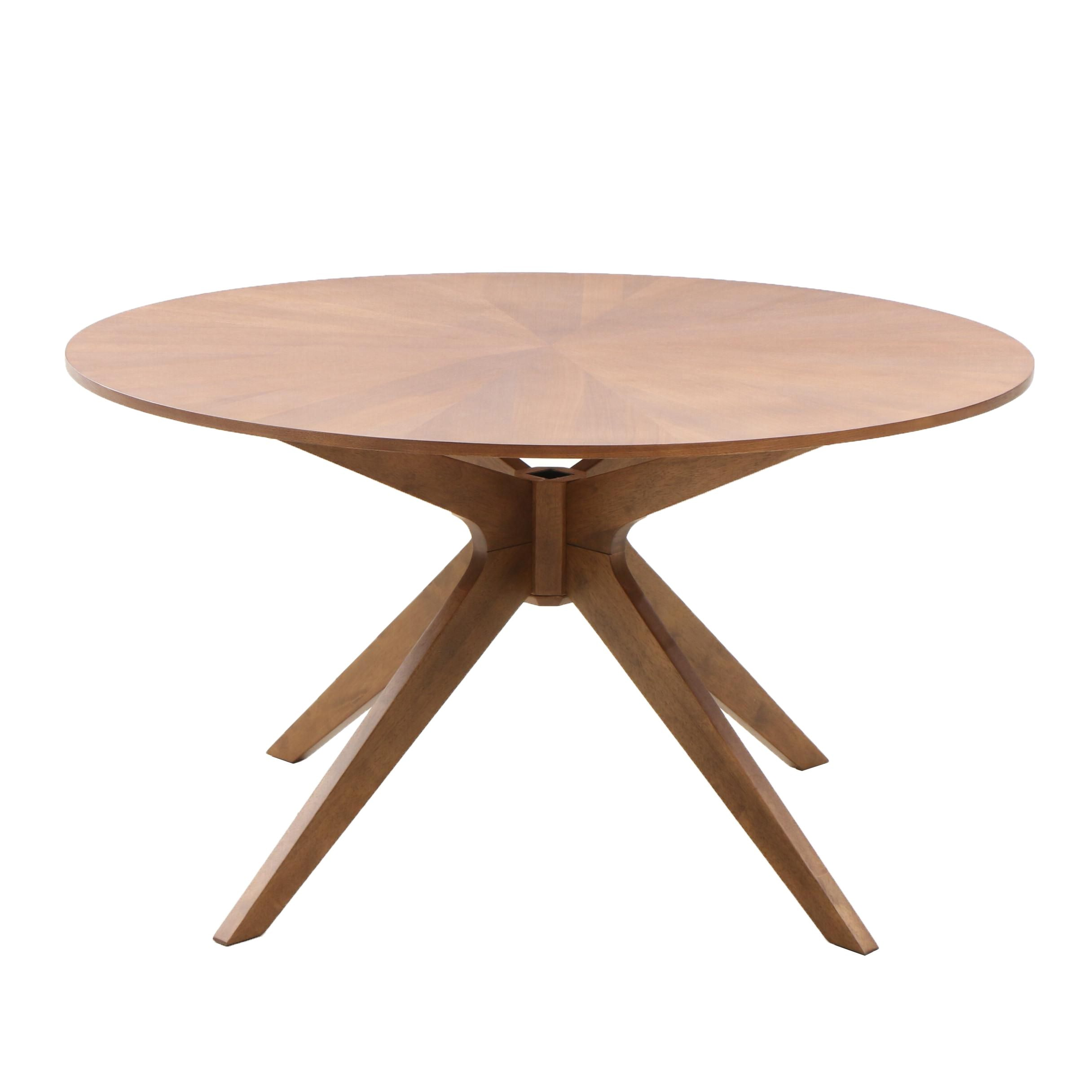 Bookmatched Oak Veneer Dining Table by Article Furniture