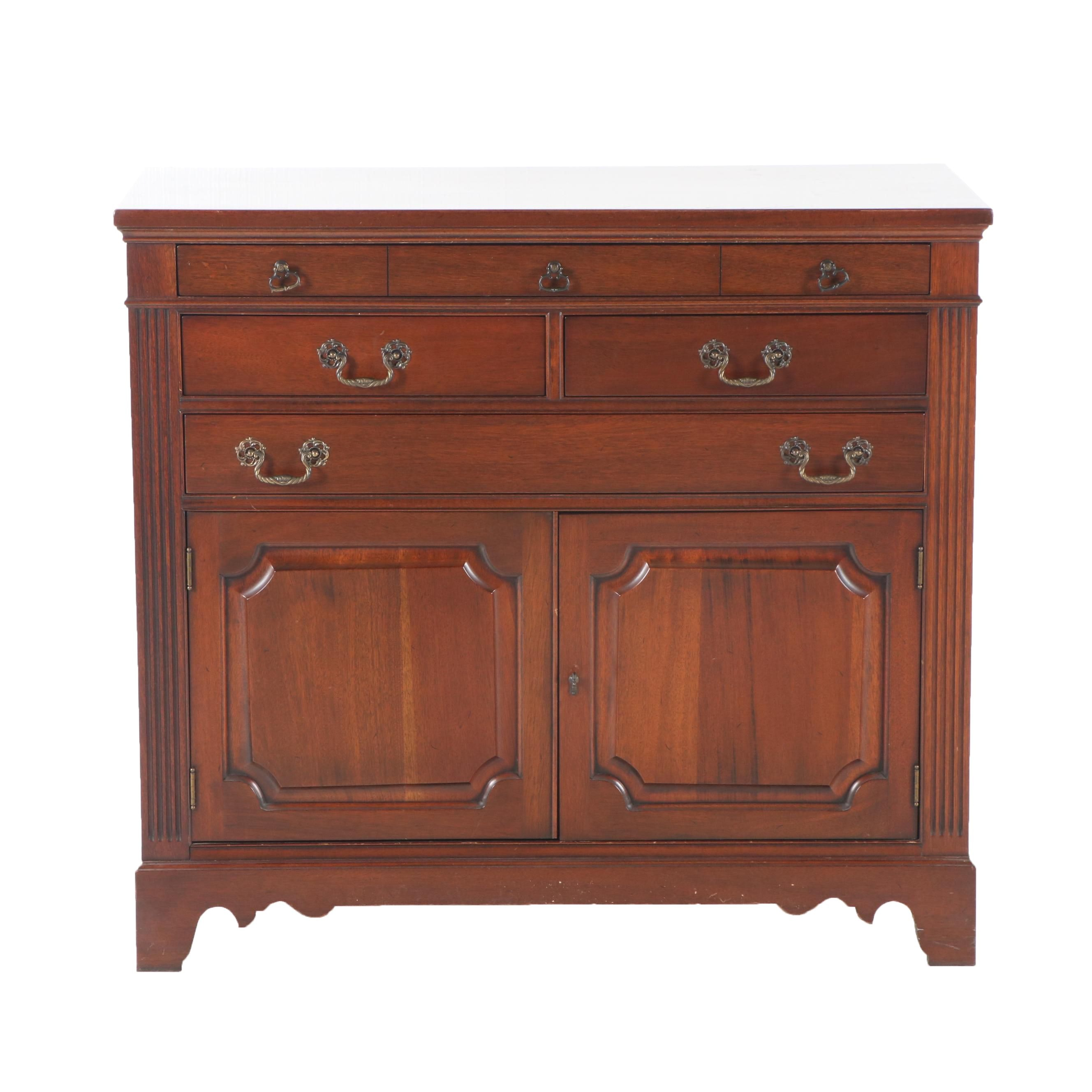 Mahogany Buffet Cabinet for Georgetown Galleries by Ritter