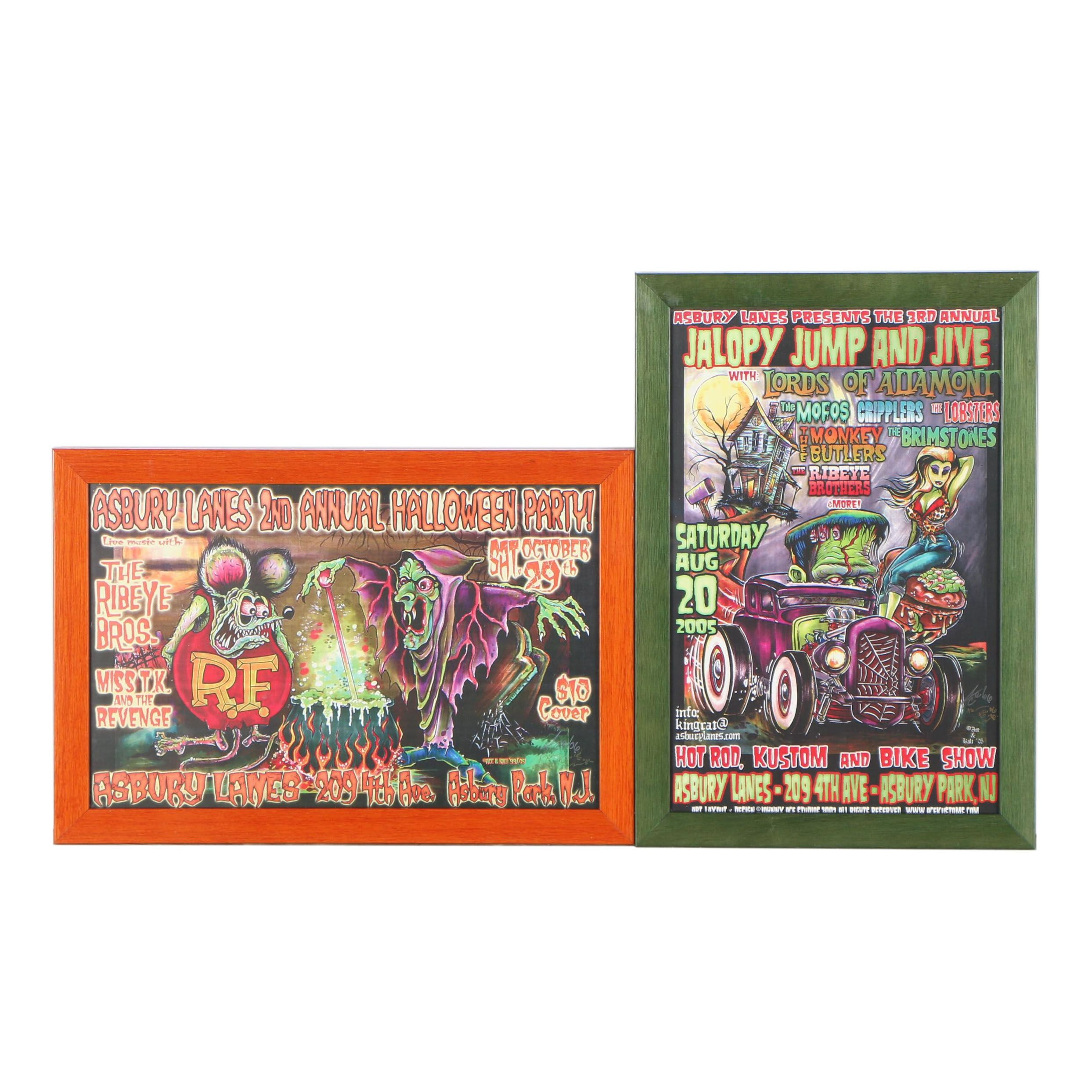 Reproduction Asbury Lane Giclée Posters after Johnny Ace and Kali Verra