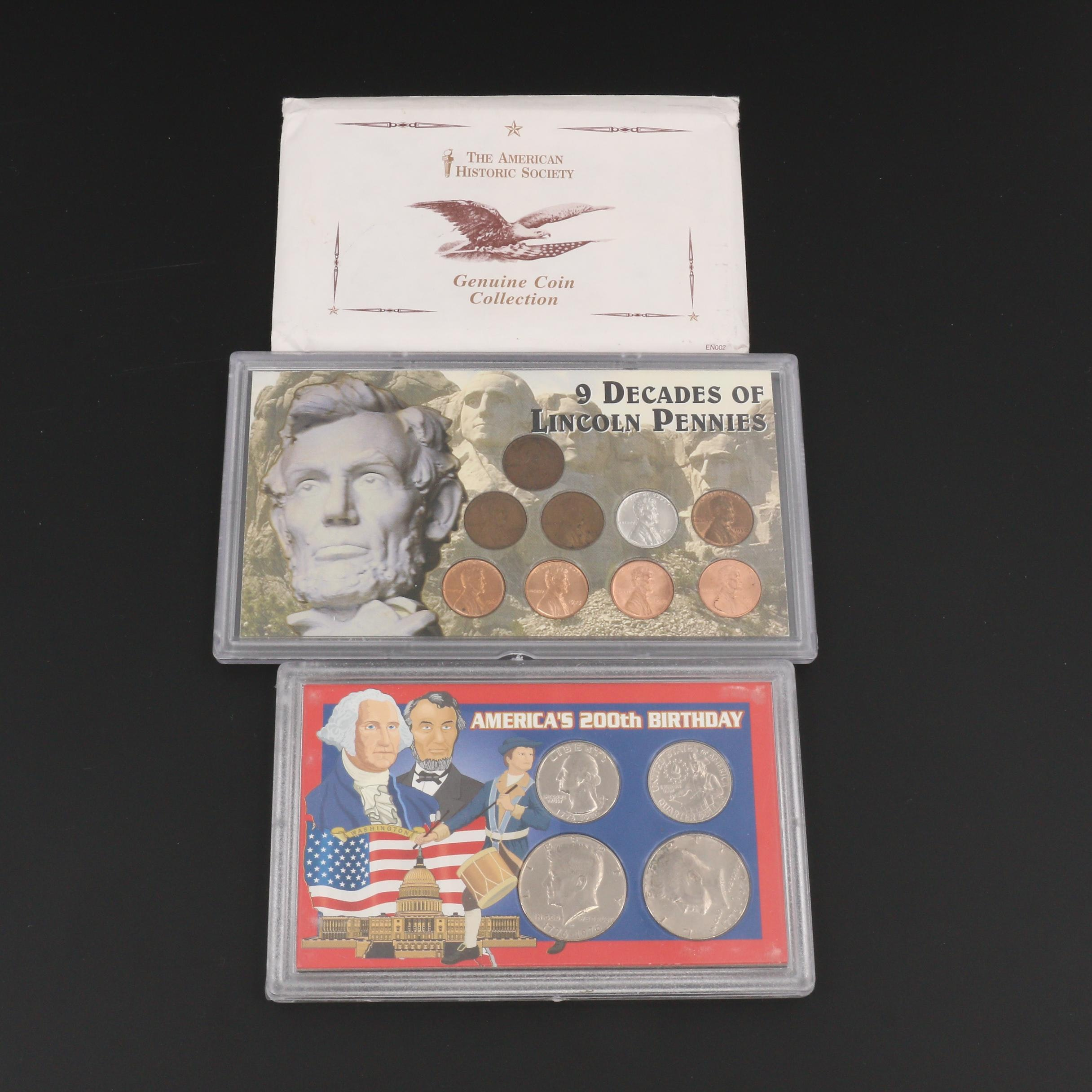 Group of Three Various U.S. Coin Collections