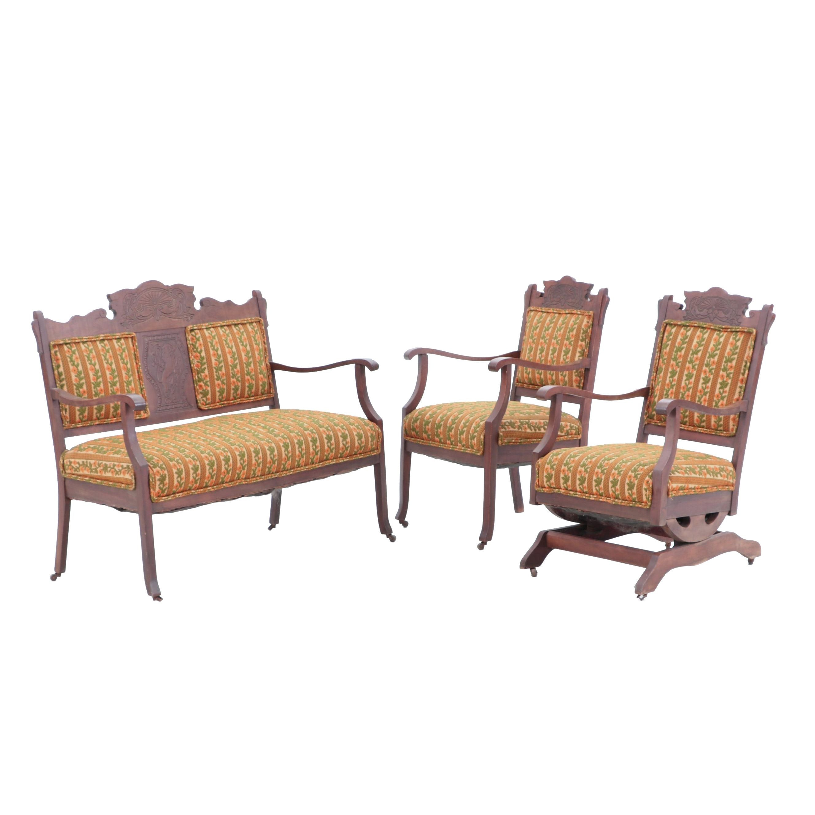 Late Victorian Parlor Seating