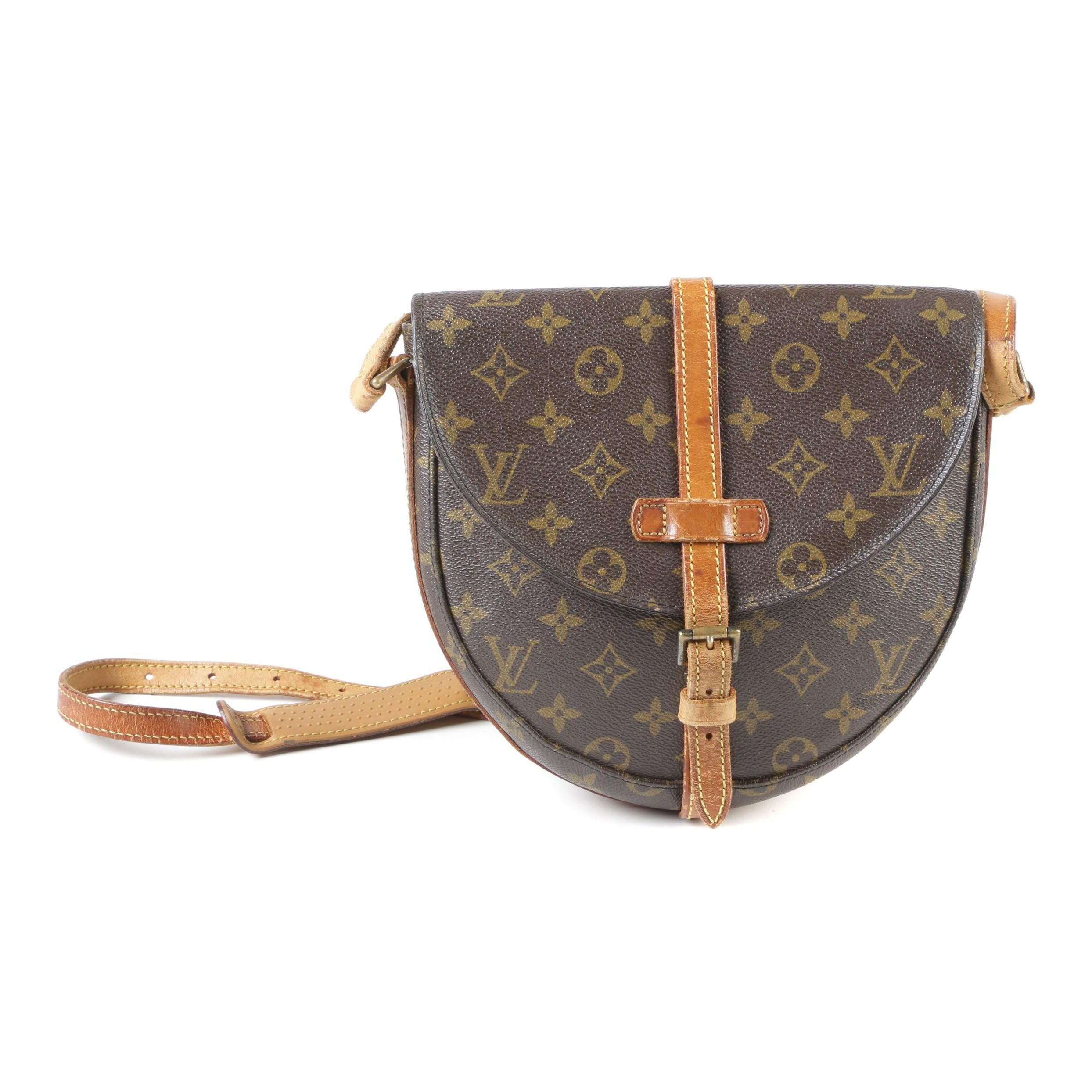 Louis Vuitton Paris Monogram Canvas Chantilly PM Bag