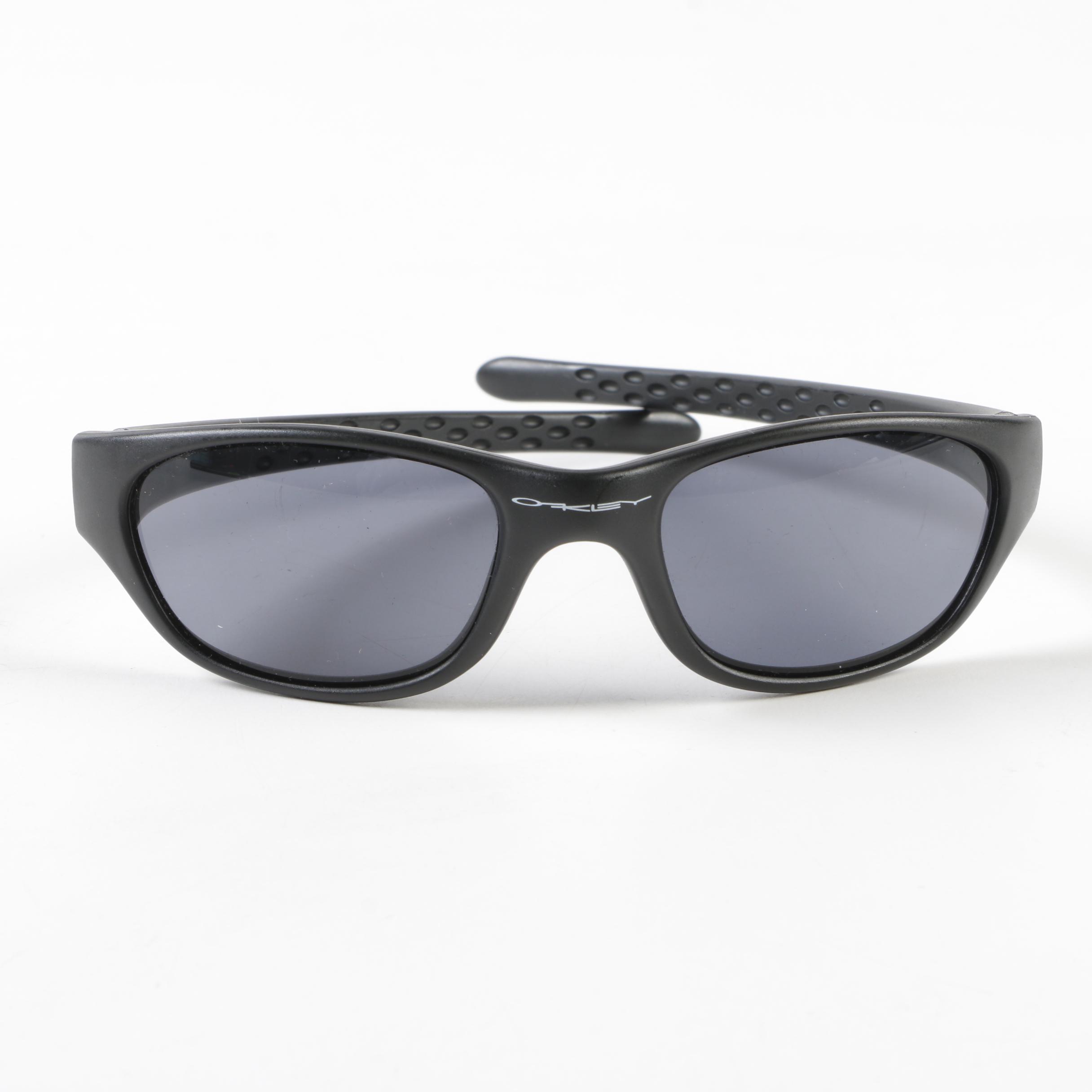 Oakley Black Sport Sunglasses with Case