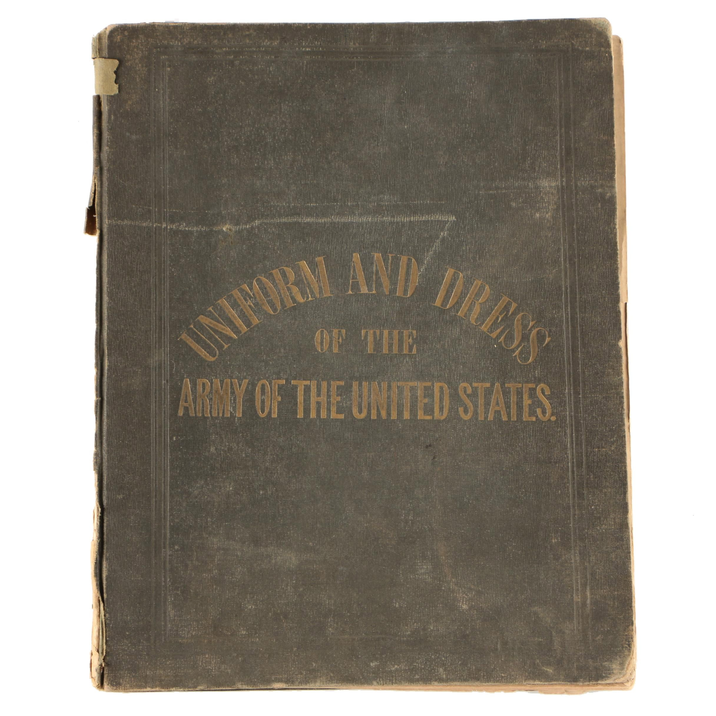 "1851 ""Regulations for the Uniforms & Dress of the Army of the United States"""