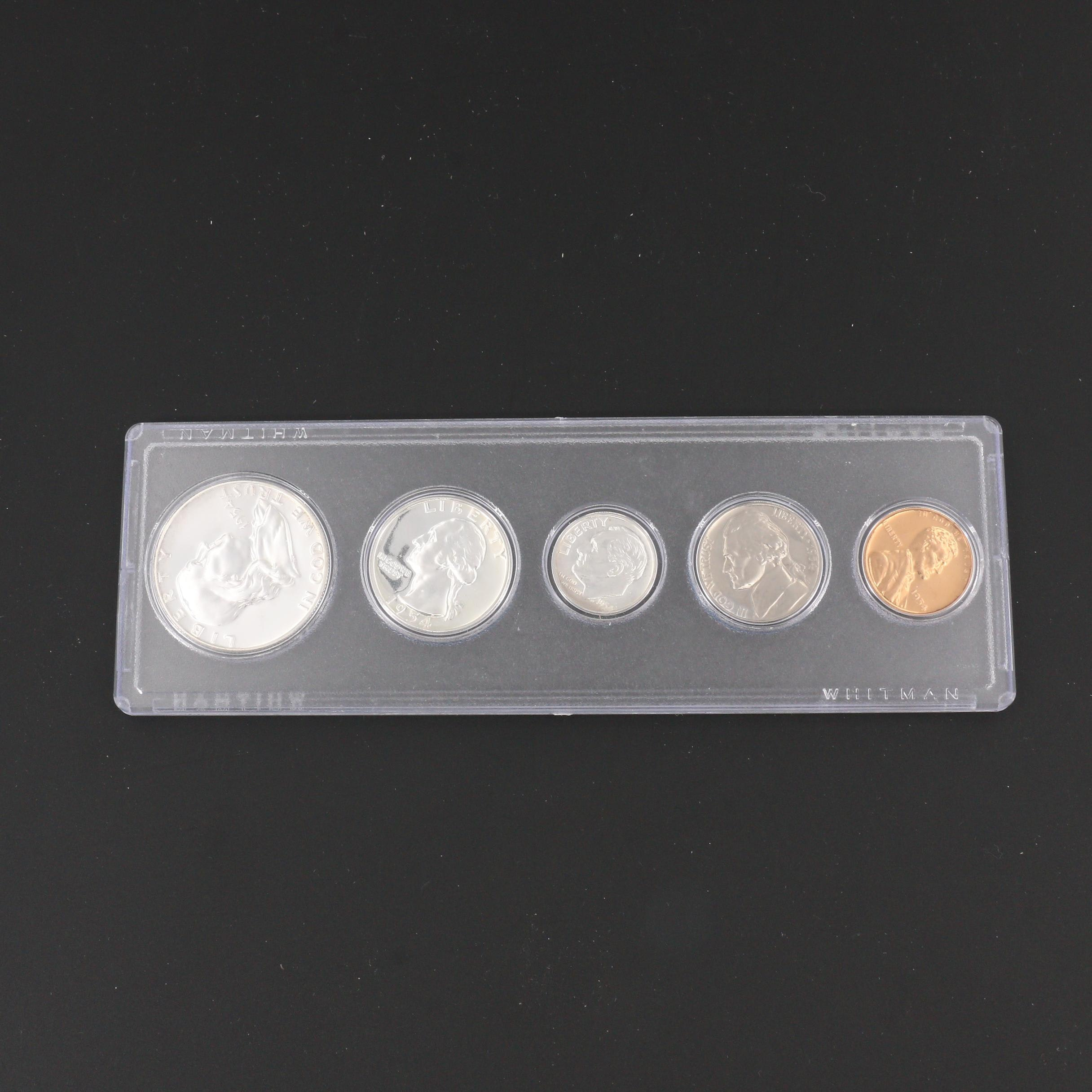 1954 U.S. Type Coin Proof Set