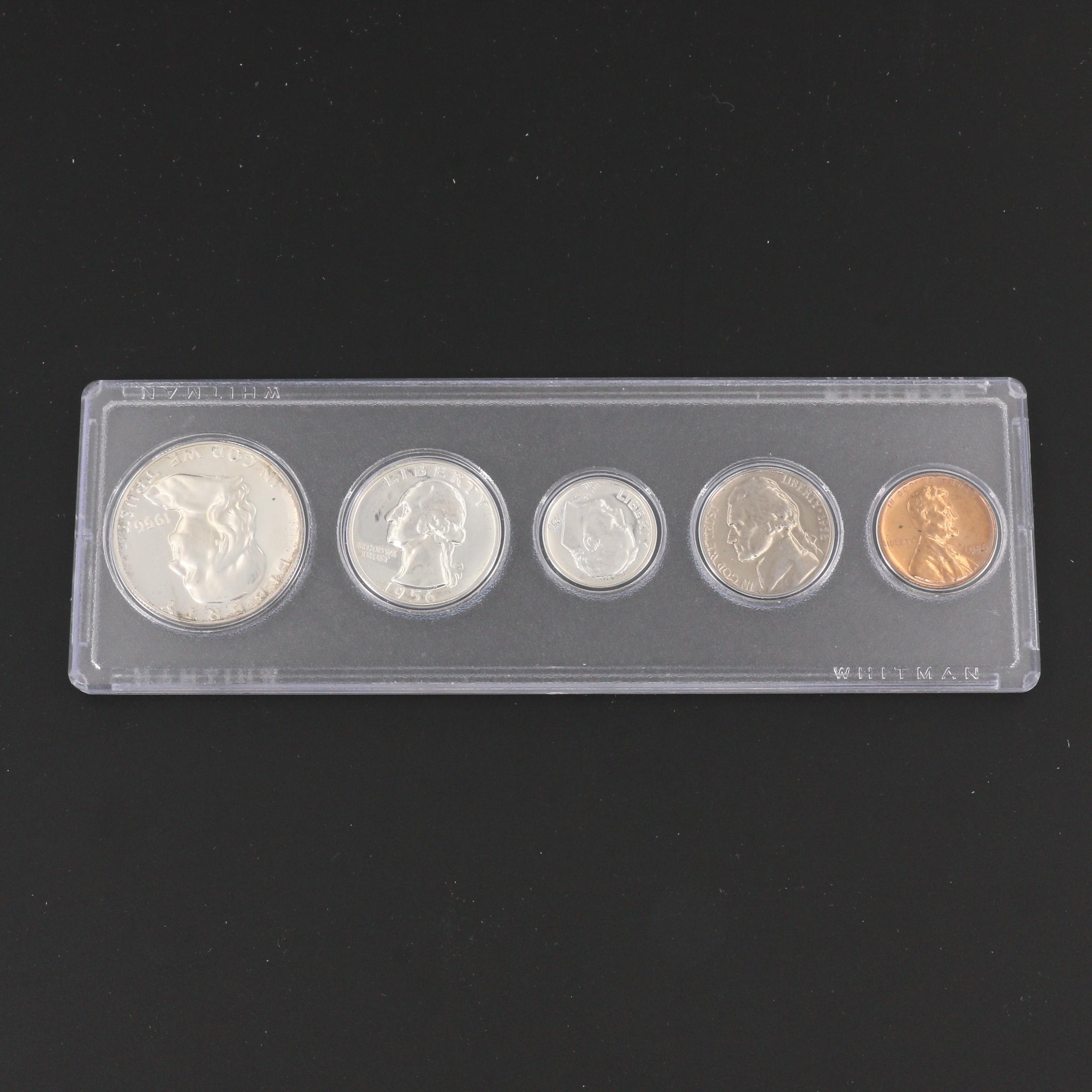 A 1956 U.S. Type Coin Proof Set