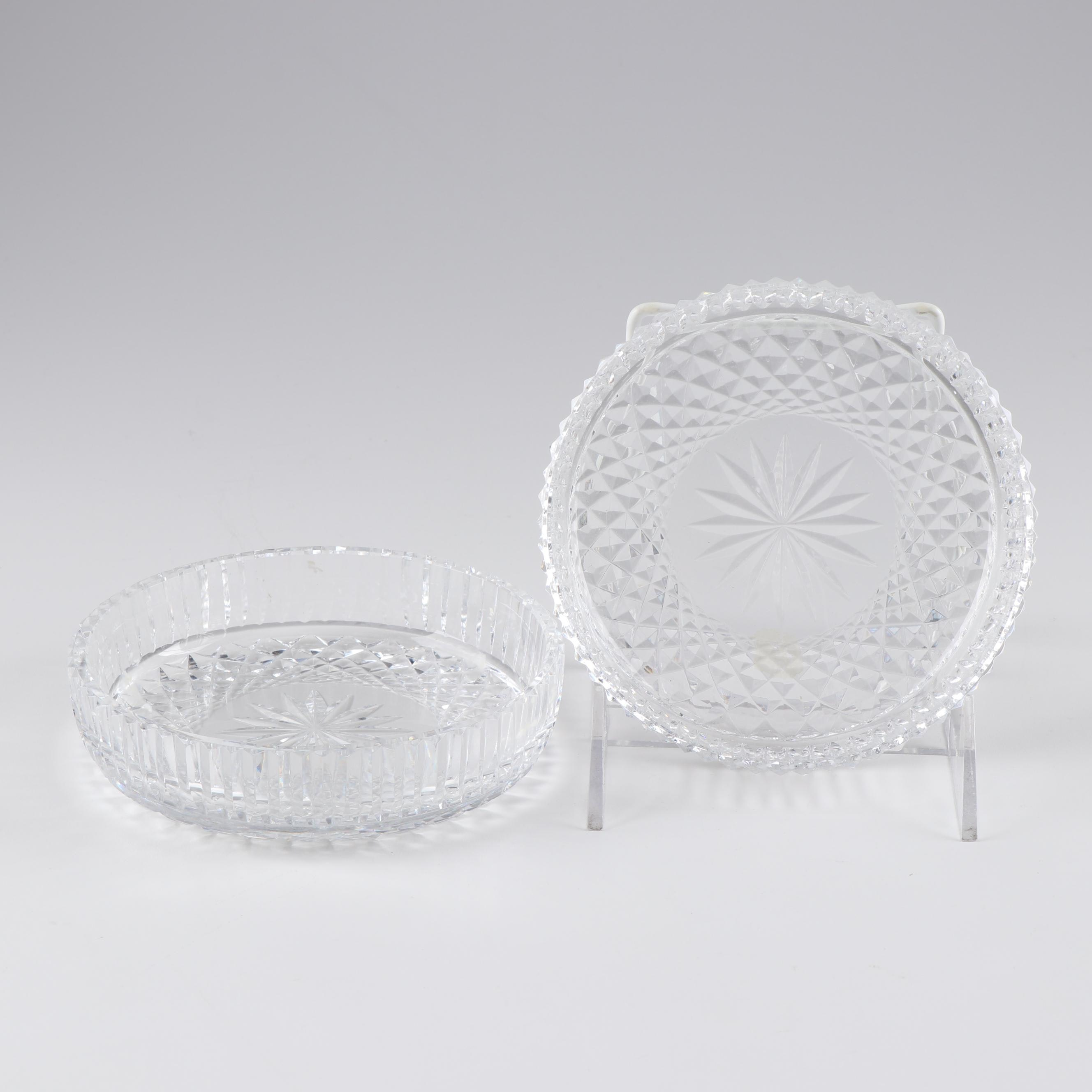 Lead Crystal Candy Dishes