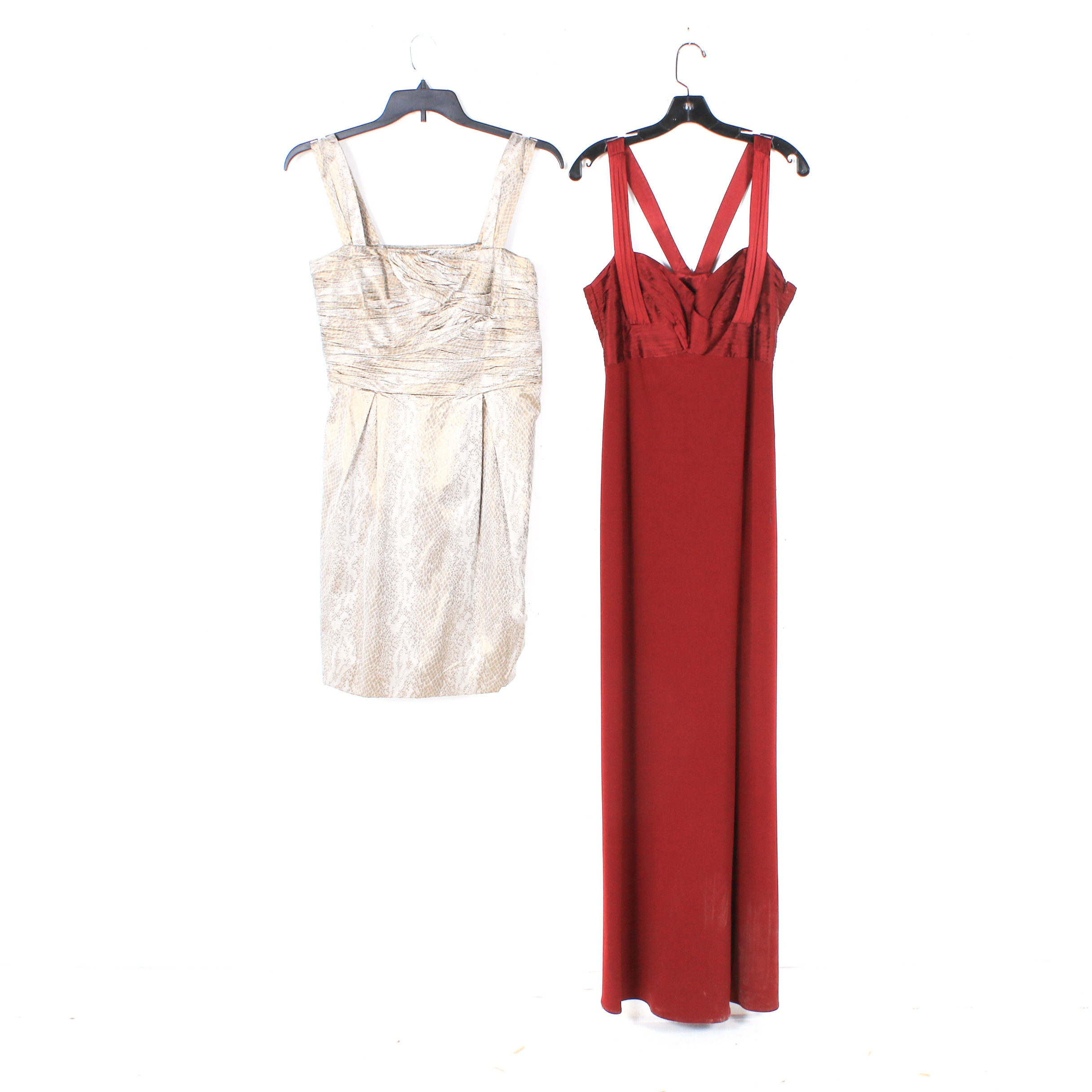 Diane Von Furstenberg and Laundry by Shelli Segal Sleeveless Dresses