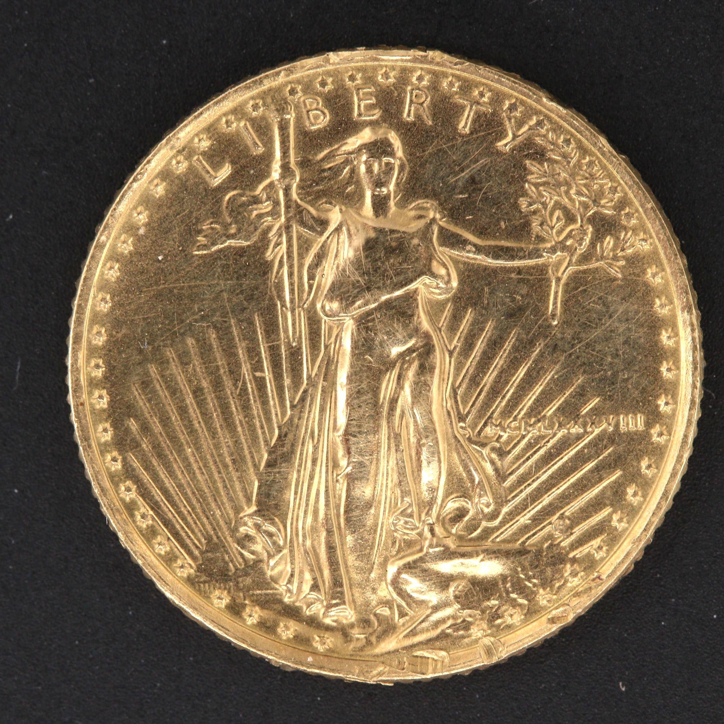 1988 $5 Tenth-Ounce Gold American Gold Eagle Bullion Coin