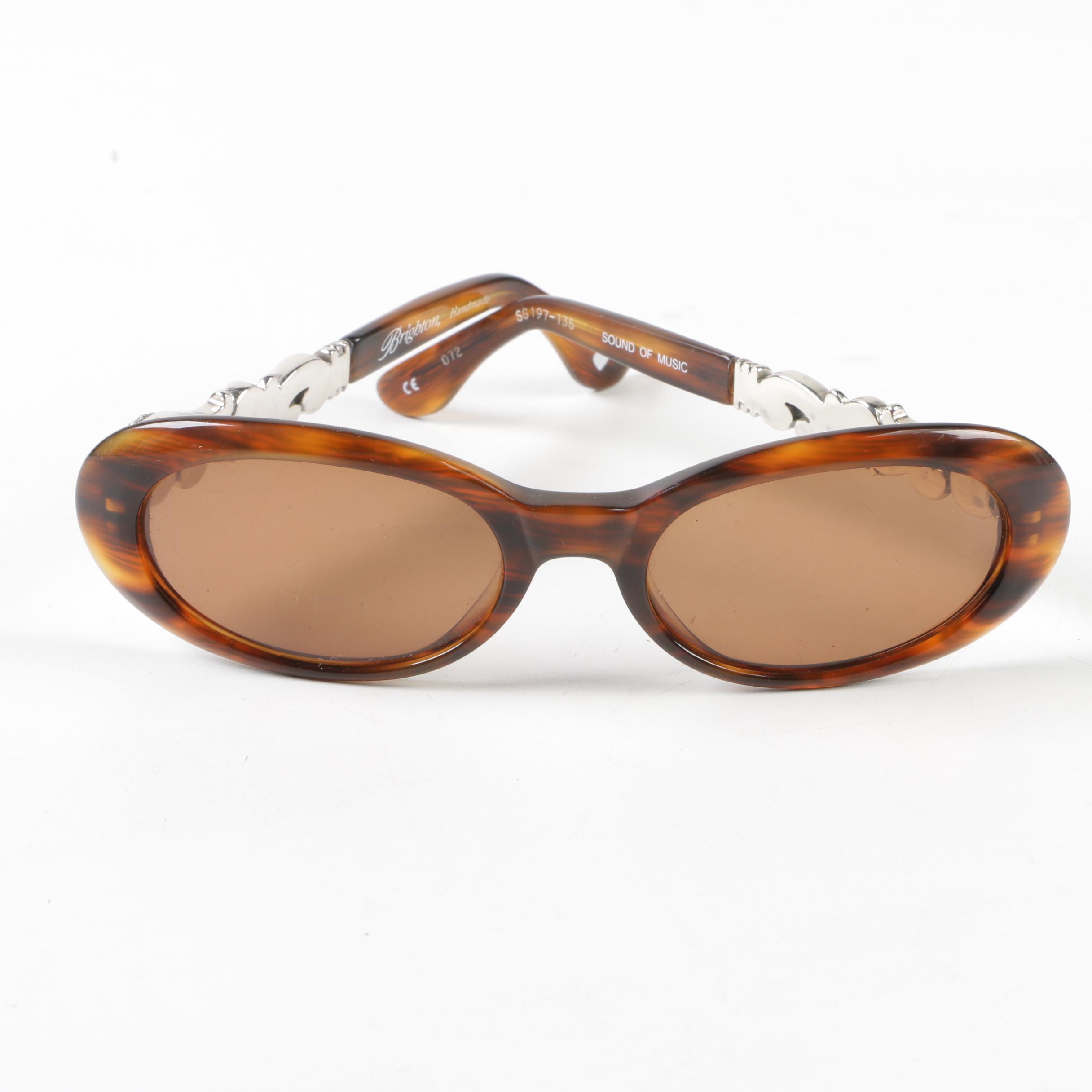 Brighton Sound of Music Sunglasses with Case