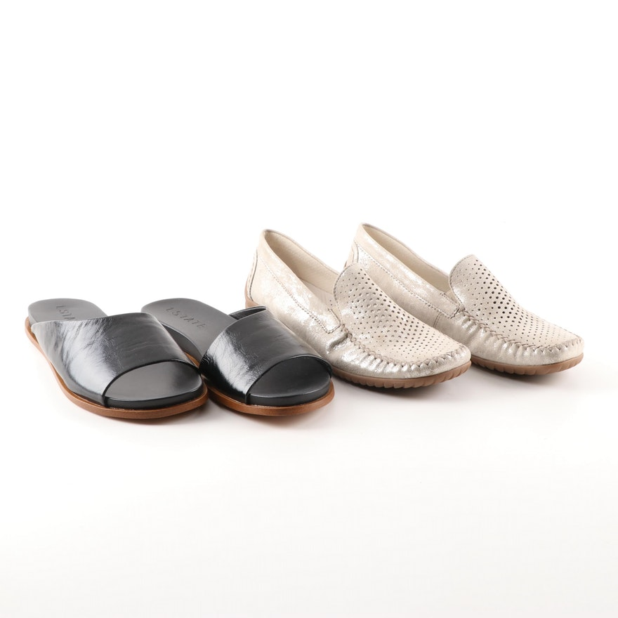 230d0b92b61 Women s Gabor Loafers and 1. State Slides   EBTH
