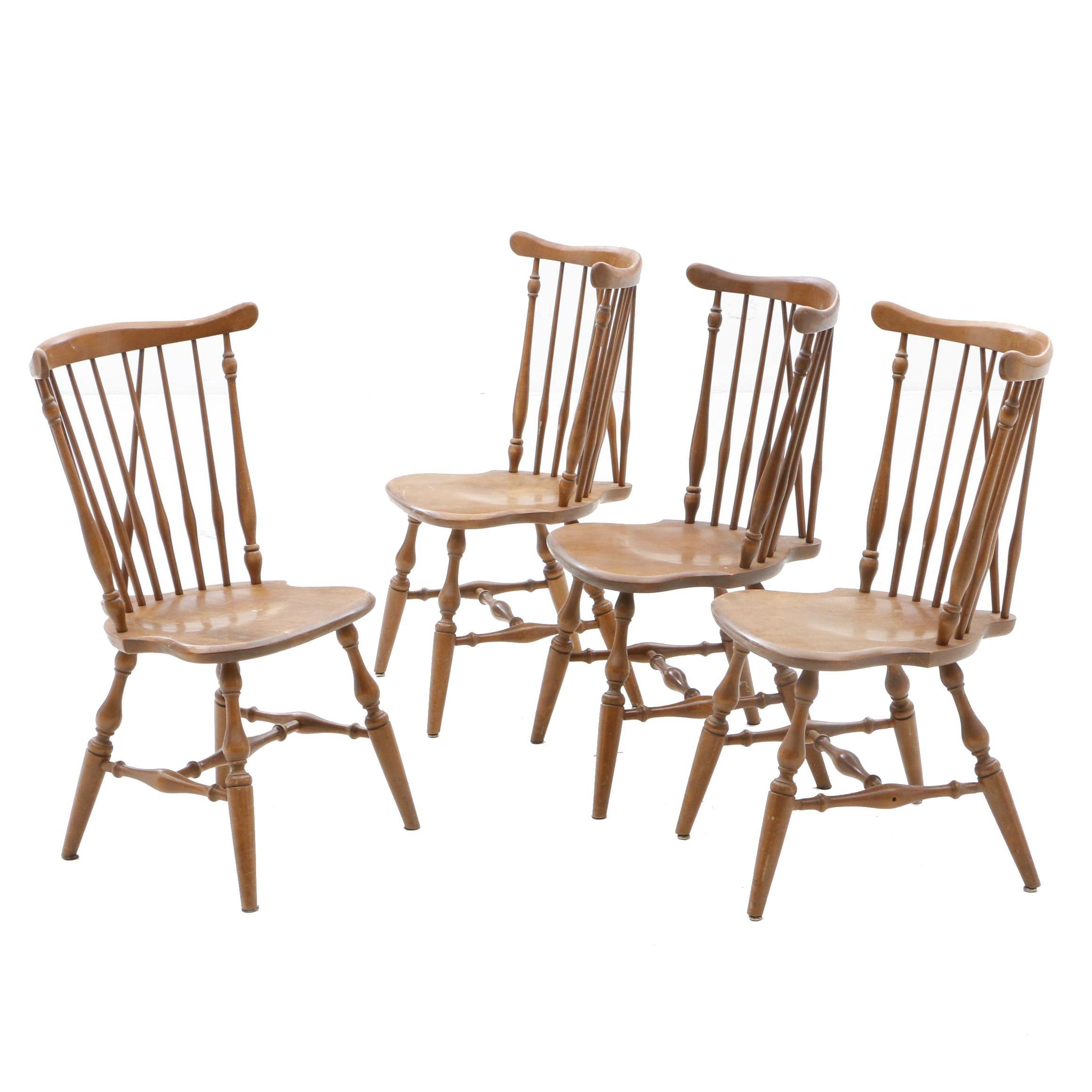 Ethan Allen by Baumritter Windsor Chairs