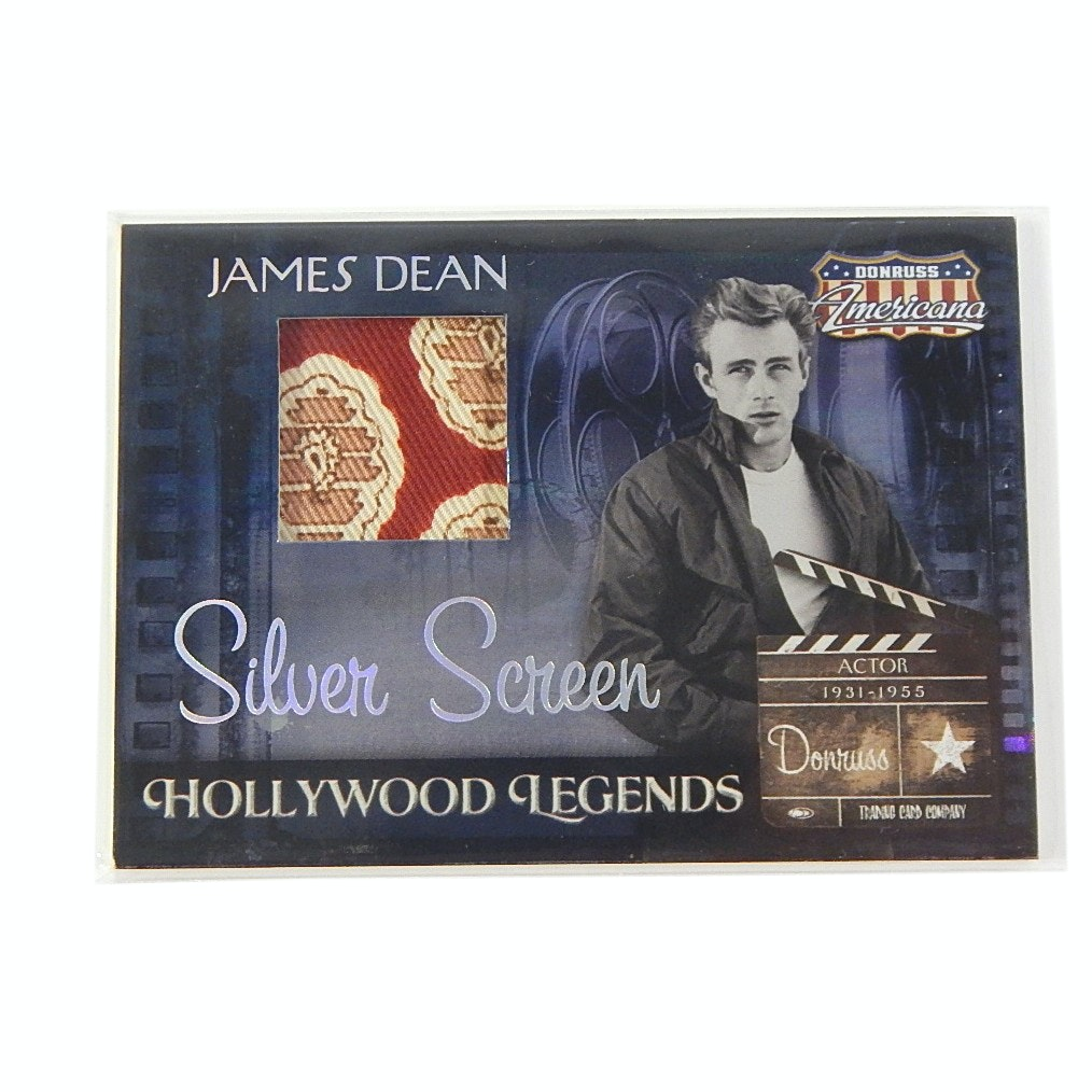 2007 James Dean Swatch Card by Donruss Americana Series #040/100